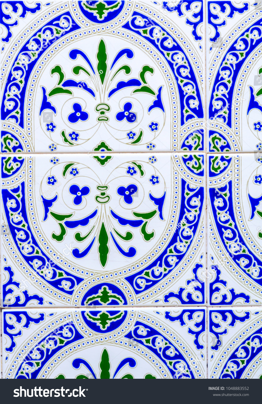 Spanish Ornamental Wall Decor Within Best And Newest Traditional Ornamental Spanish Decorative Tiles Original Stock Photo (Gallery 18 of 20)