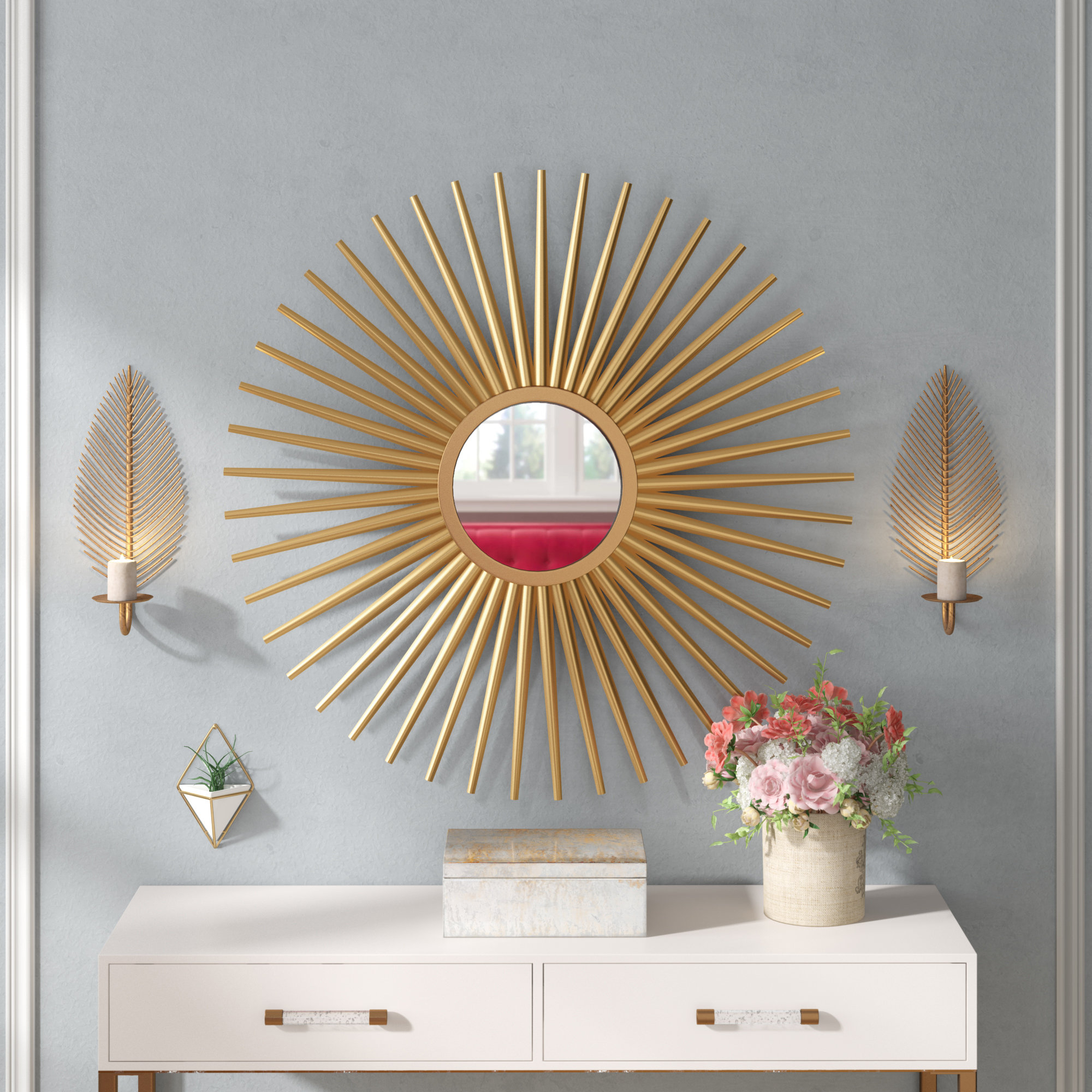Starburst Wall Decor By Willa Arlo Interiors In Most Recent Willa Arlo Interiors Sunburst Wall Mirror & Reviews (Gallery 6 of 20)