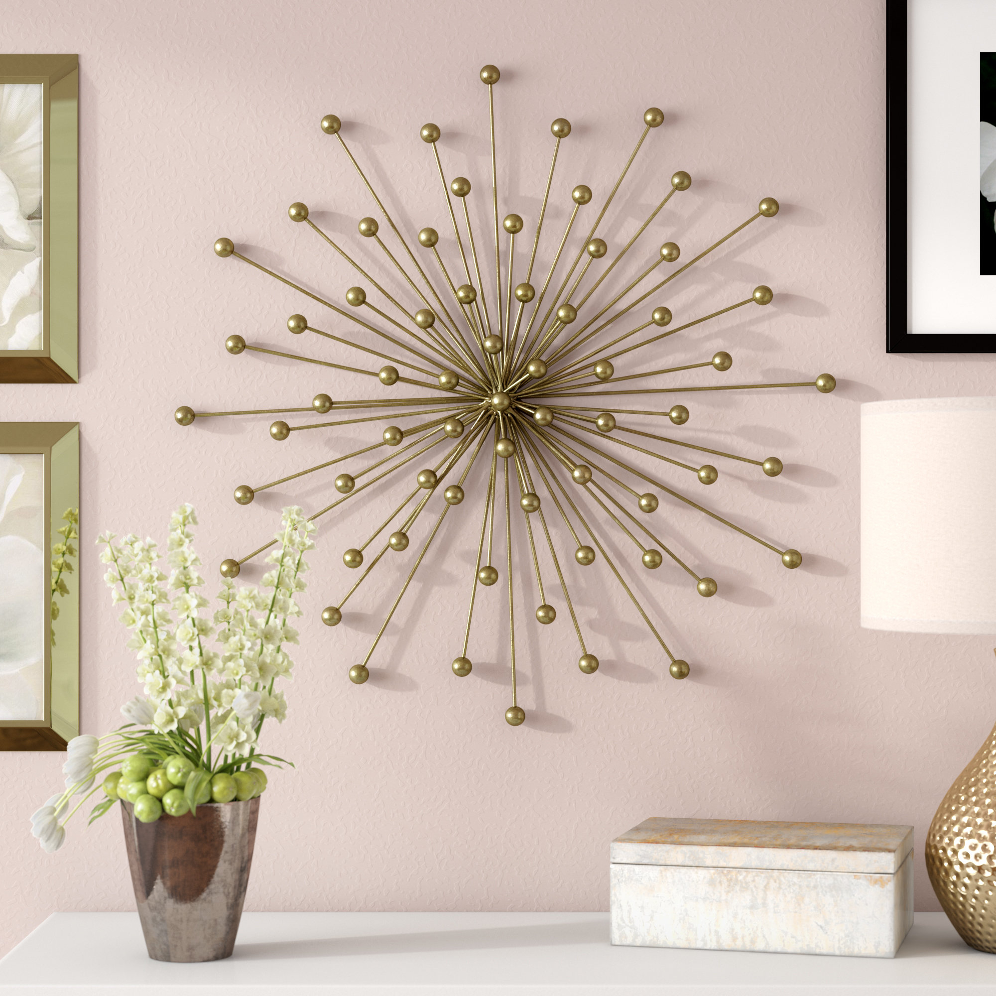 Starburst Wall Decor By Willa Arlo Interiors Within Most Popular Willa Arlo Interiors Burst Wall Décor & Reviews (Gallery 9 of 20)