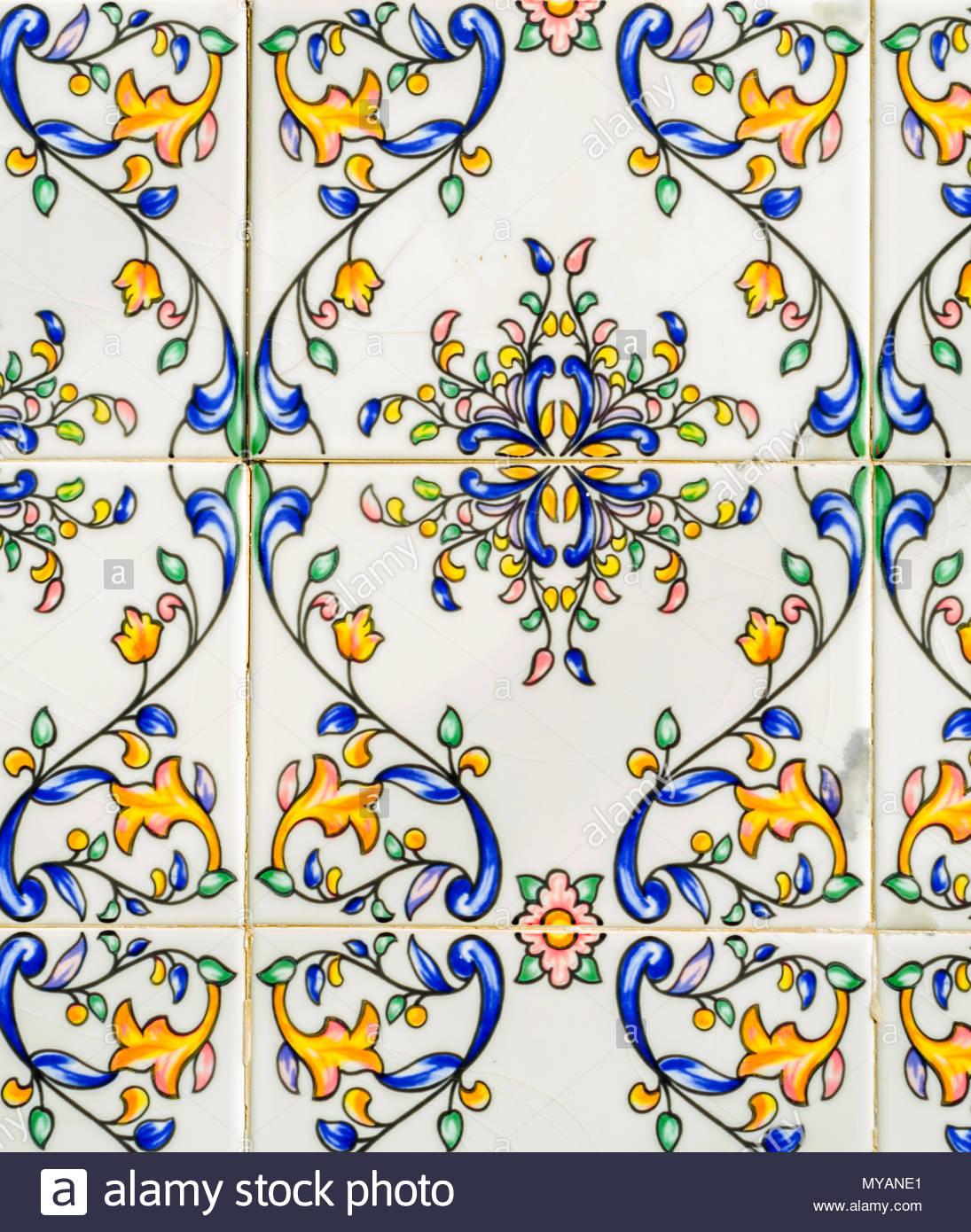 Traditional Ornamental Spanish Decorative Tiles, Original Ceramic With Newest Spanish Ornamental Wall Decor (Gallery 14 of 20)