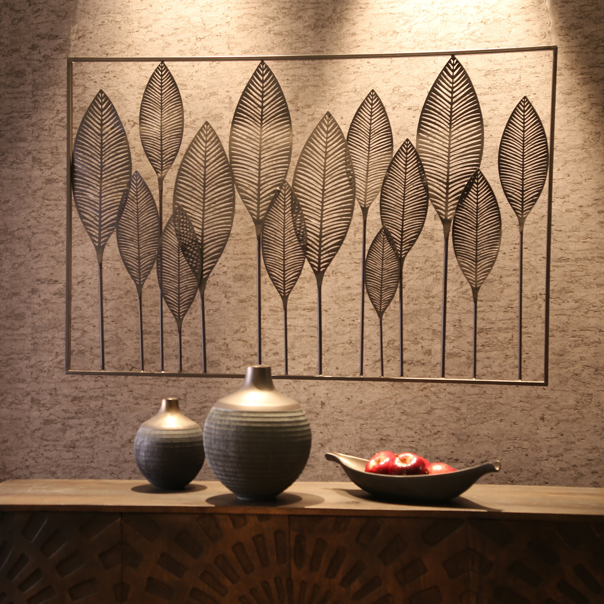 Tree Of Life Wall Decor By Red Barrel Studio Pertaining To Best And Newest Red Barrel Studio Metal Leaves Wall Décor & Reviews (Gallery 1 of 20)