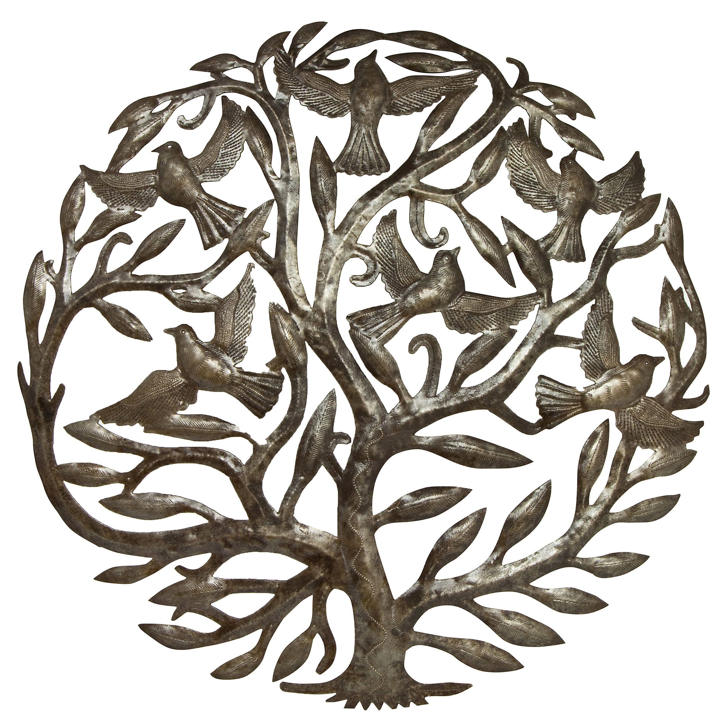 Tree Of Life Wall Decor By Red Barrel Studio Throughout Most Up To Date Bloomsbury Market 'tree Of Life With Birds' Traditional Wall Décor (Gallery 17 of 20)