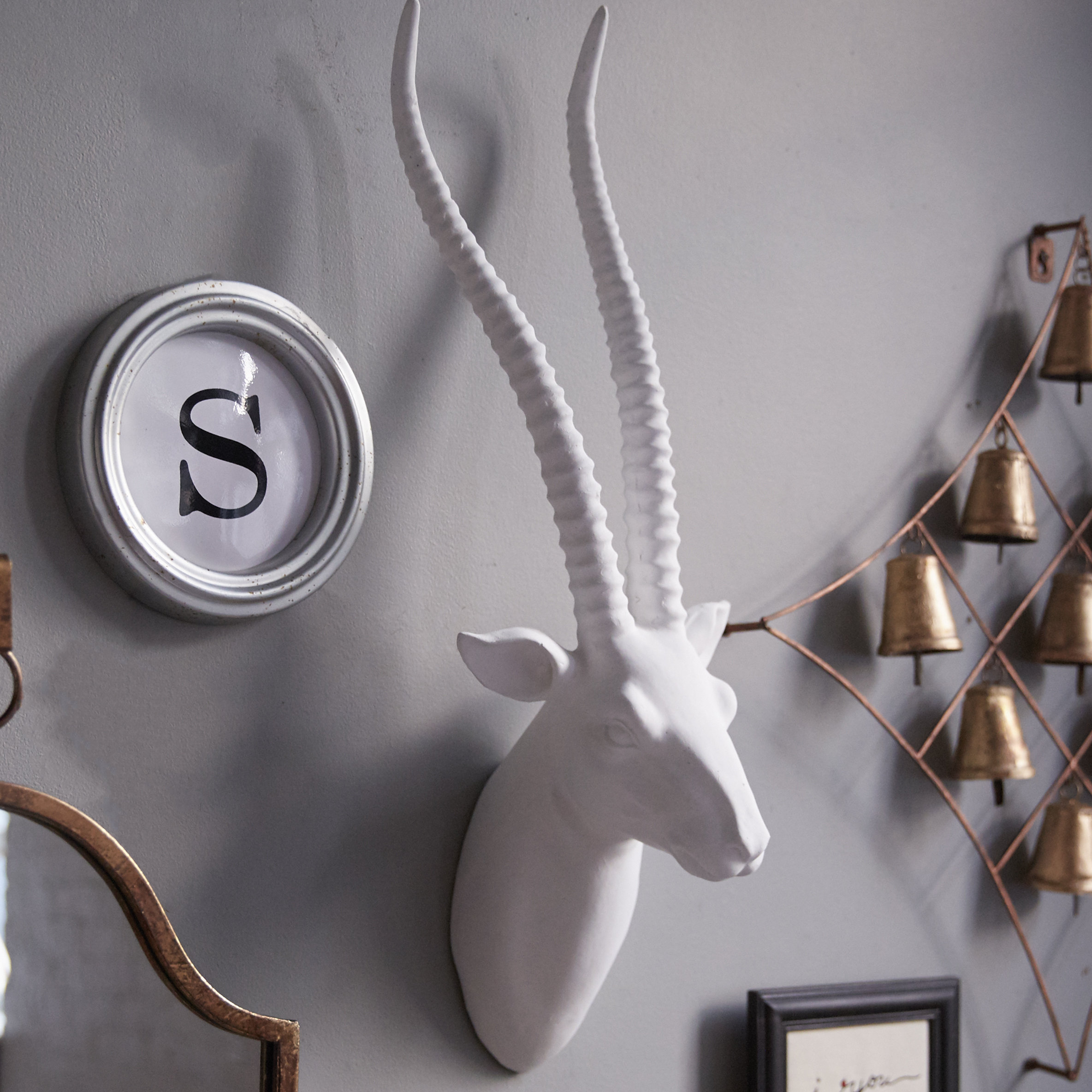 Trendy Highlands Ranch The Templeton Wall Decor With Willa Arlo Interiors Gazelle Faux Taxidermy Wall Decor & Reviews (View 14 of 20)