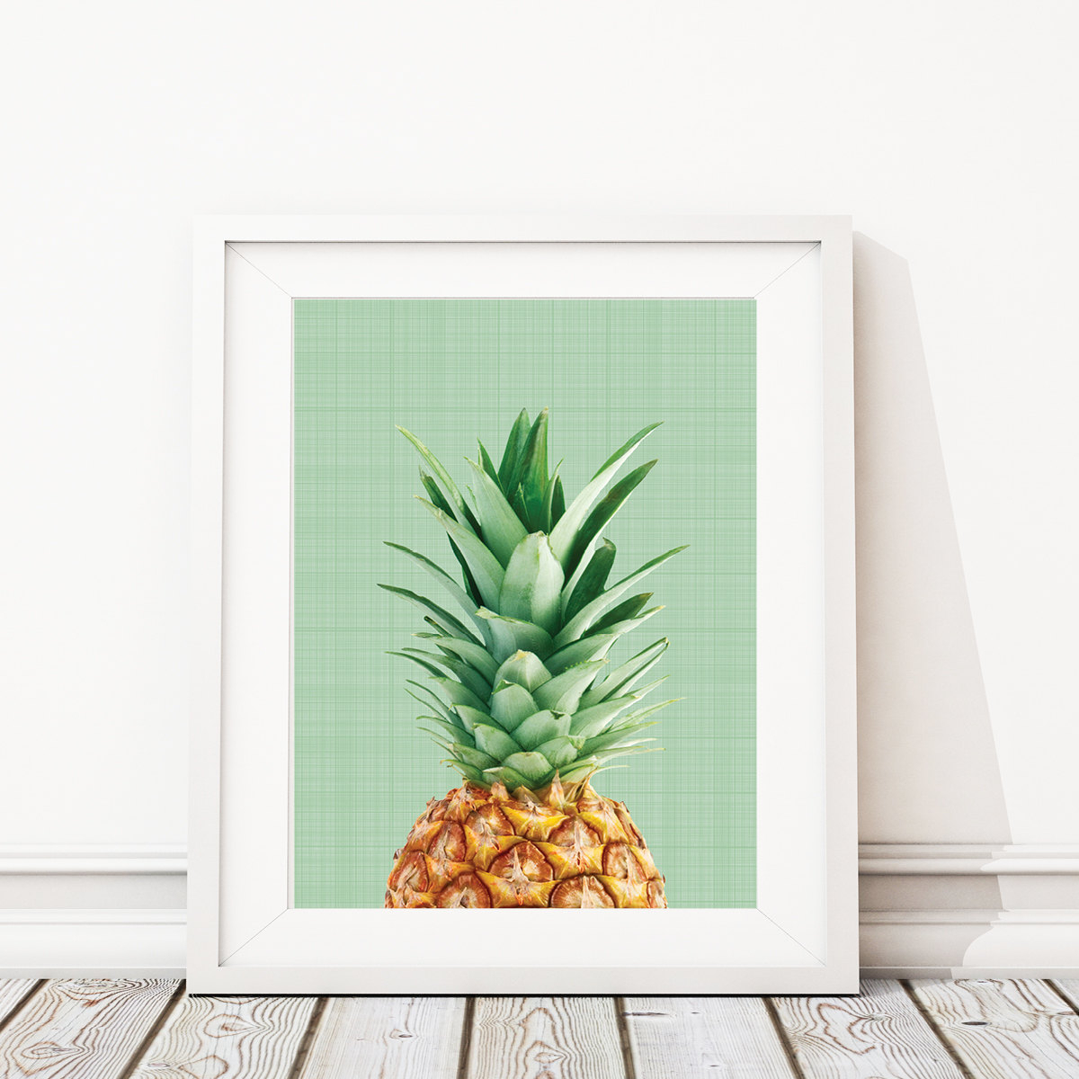 Trendy Pineapple Wall Decor Pertaining To Pineapple Print Tropical Print Art Pineapple Wall Print (View 2 of 20)