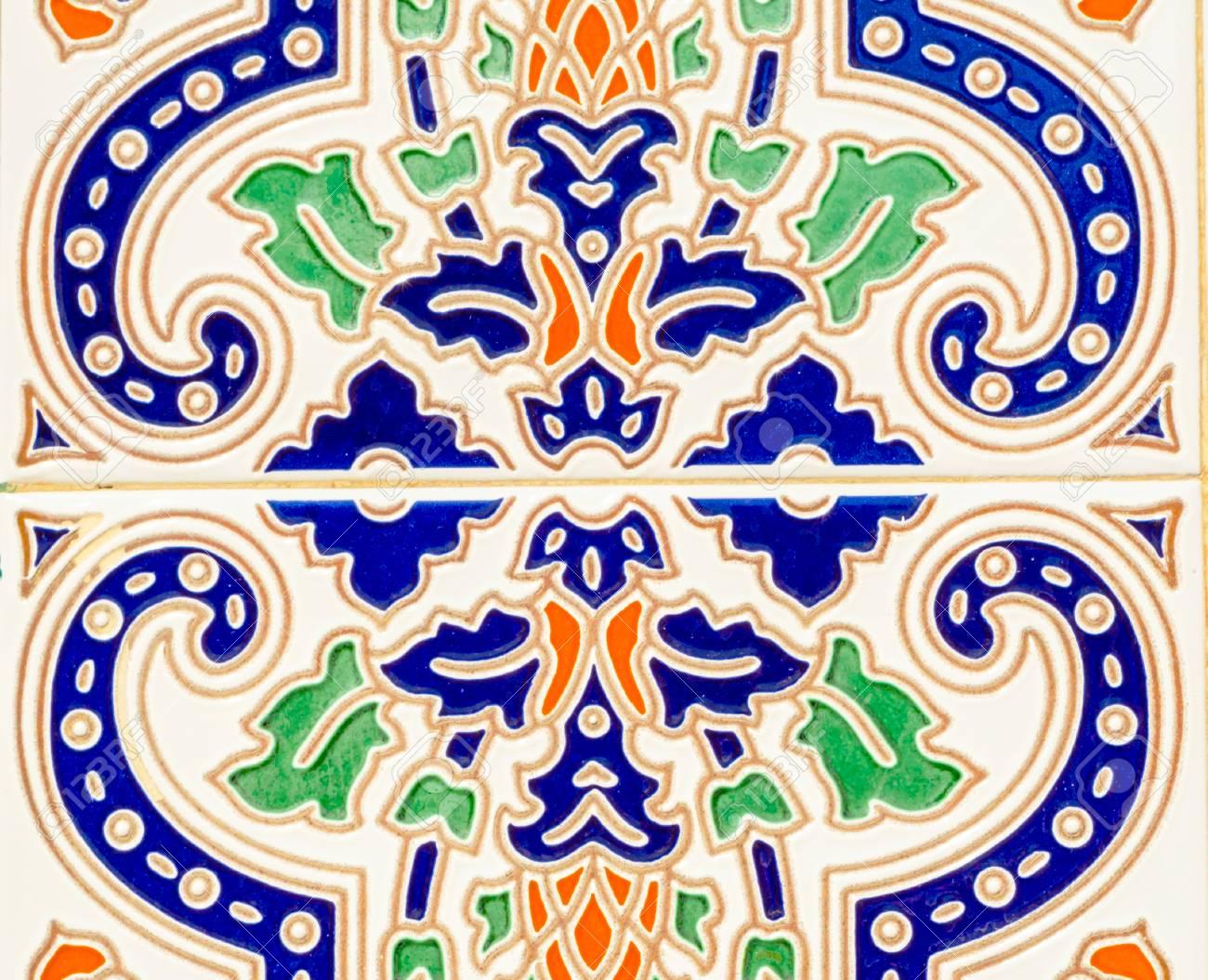 Trendy Traditional Ornamental Spanish Decorative Tiles, Original Ceramic In Spanish Ornamental Wall Decor (Gallery 19 of 20)