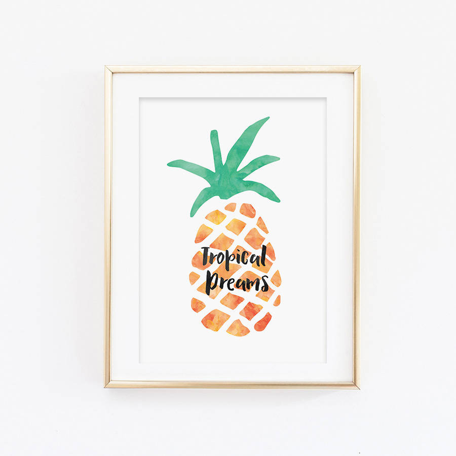 Featured Photo of Pineapple Wall Decor