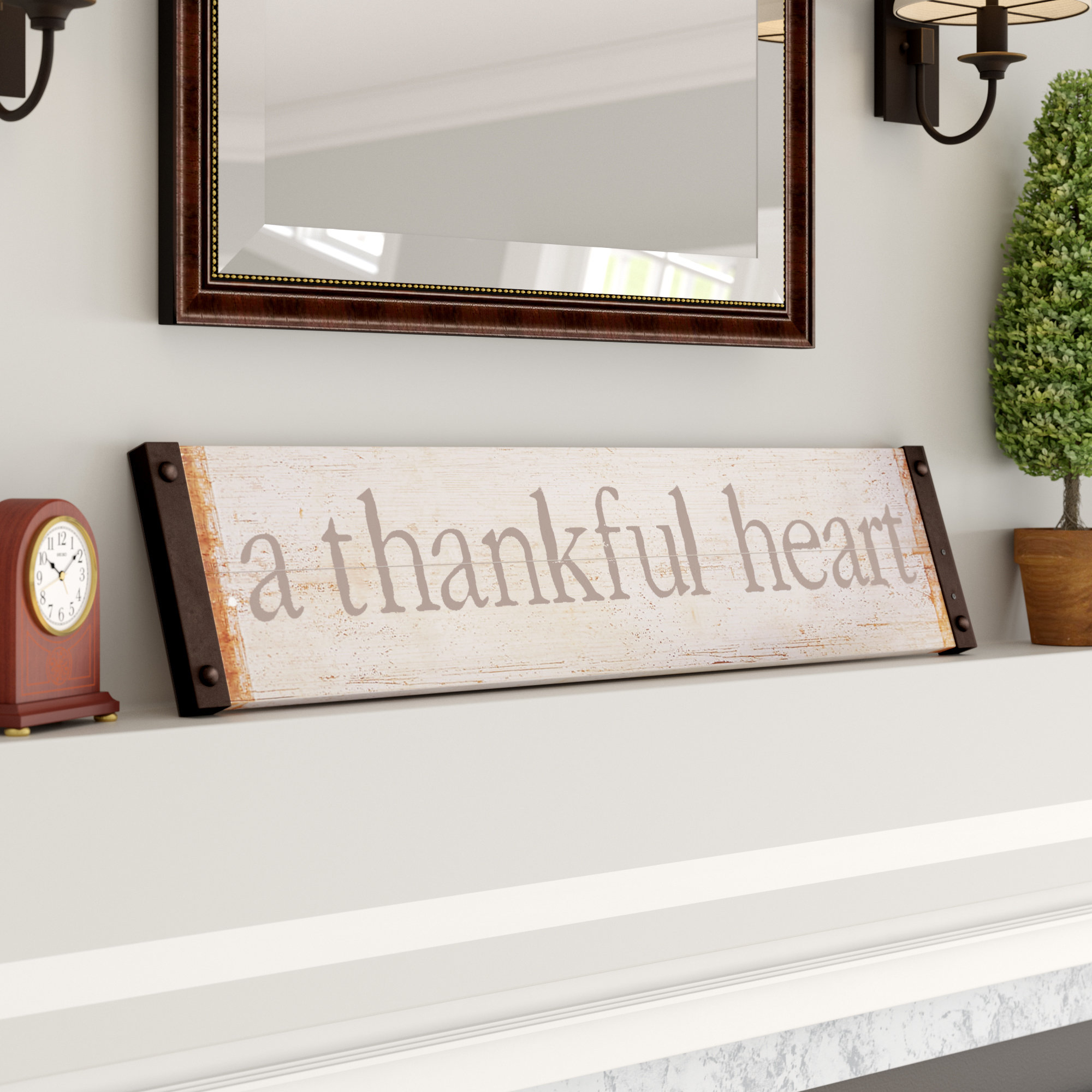 Featured Photo of Fawcett Thankful Heart Wall Decor