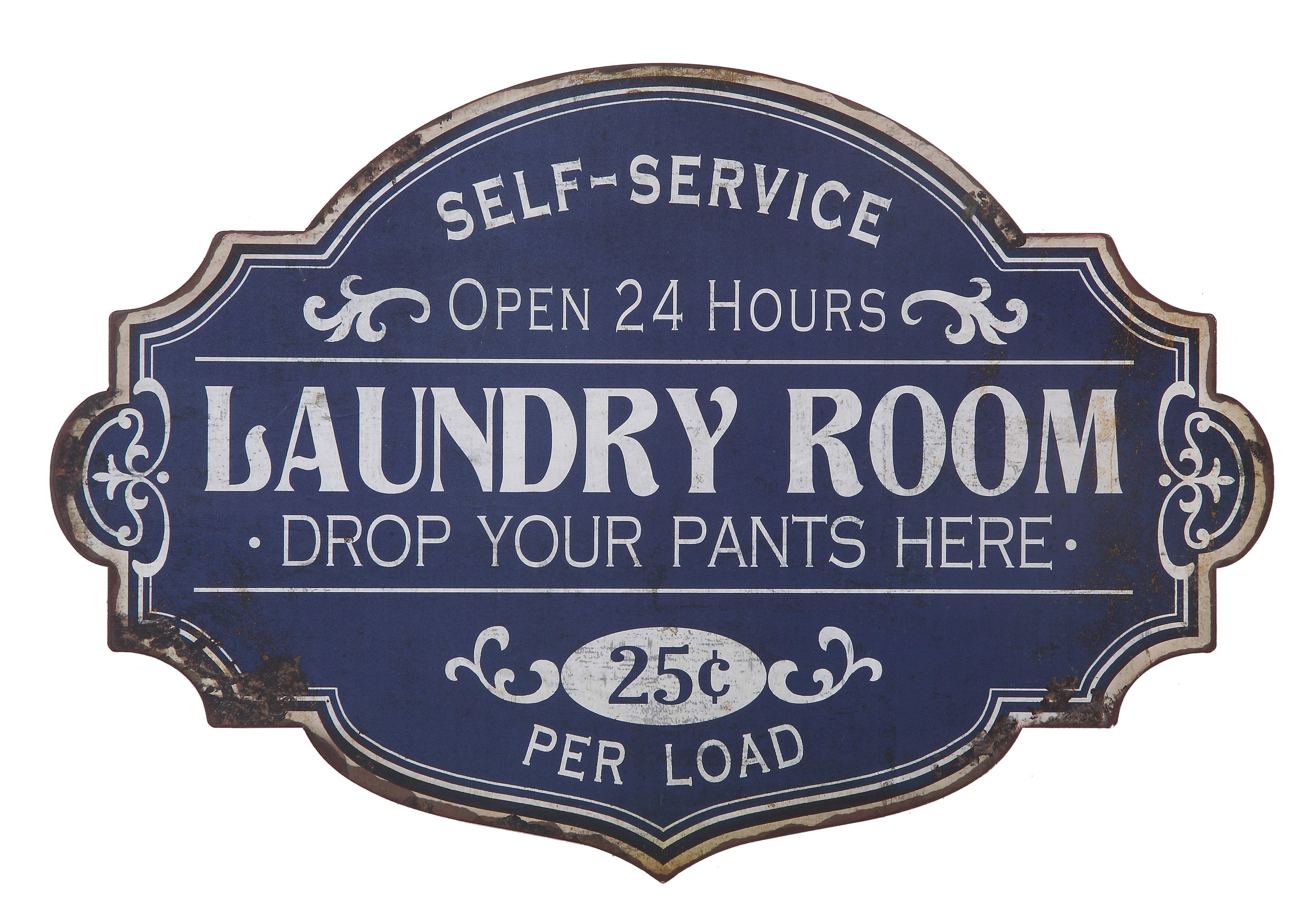 Wayfair For Metal Laundry Room Wall Decor By Winston Porter (View 2 of 20)