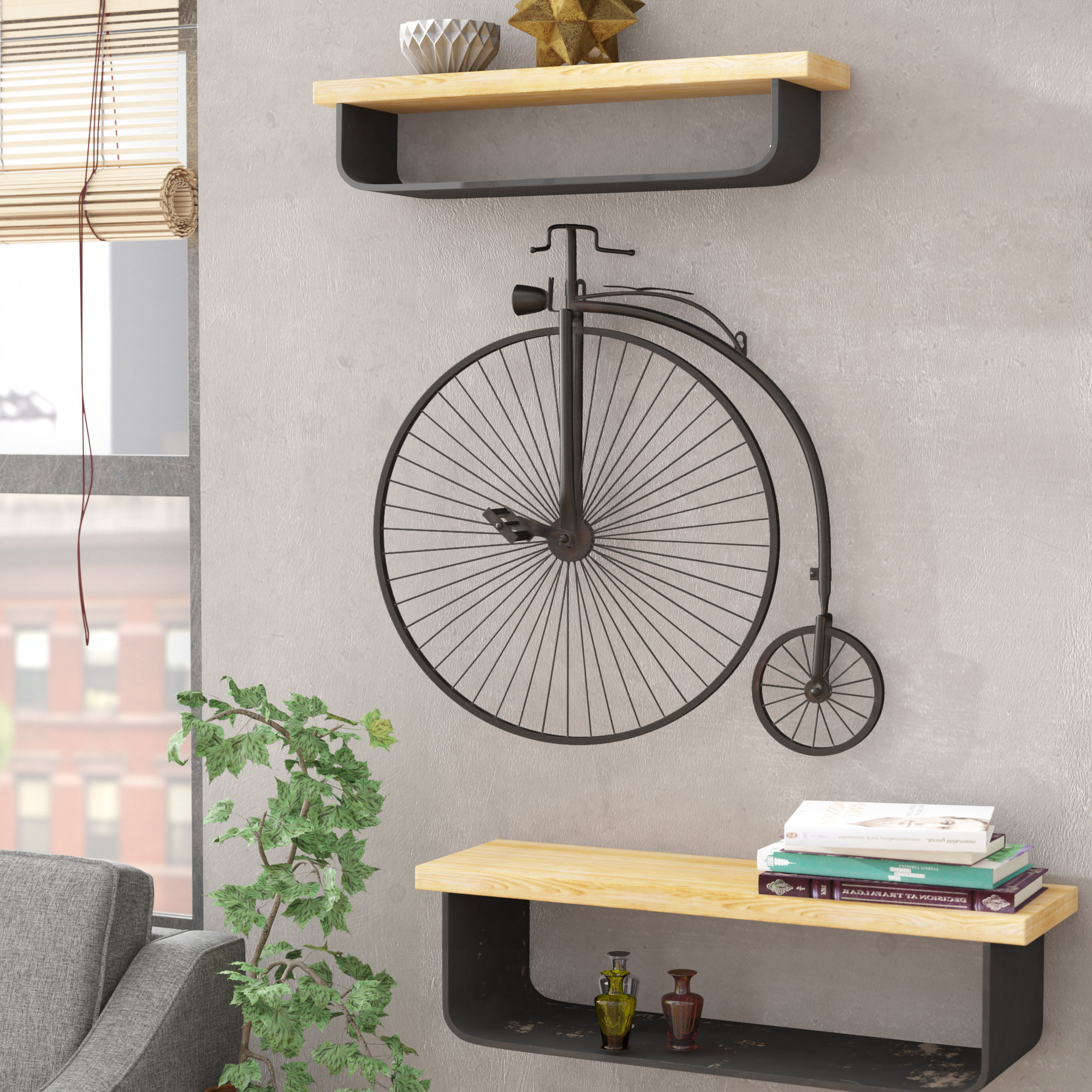 Wayfair Inside Fashionable Bike Wall Decor By August Grove (Gallery 2 of 20)