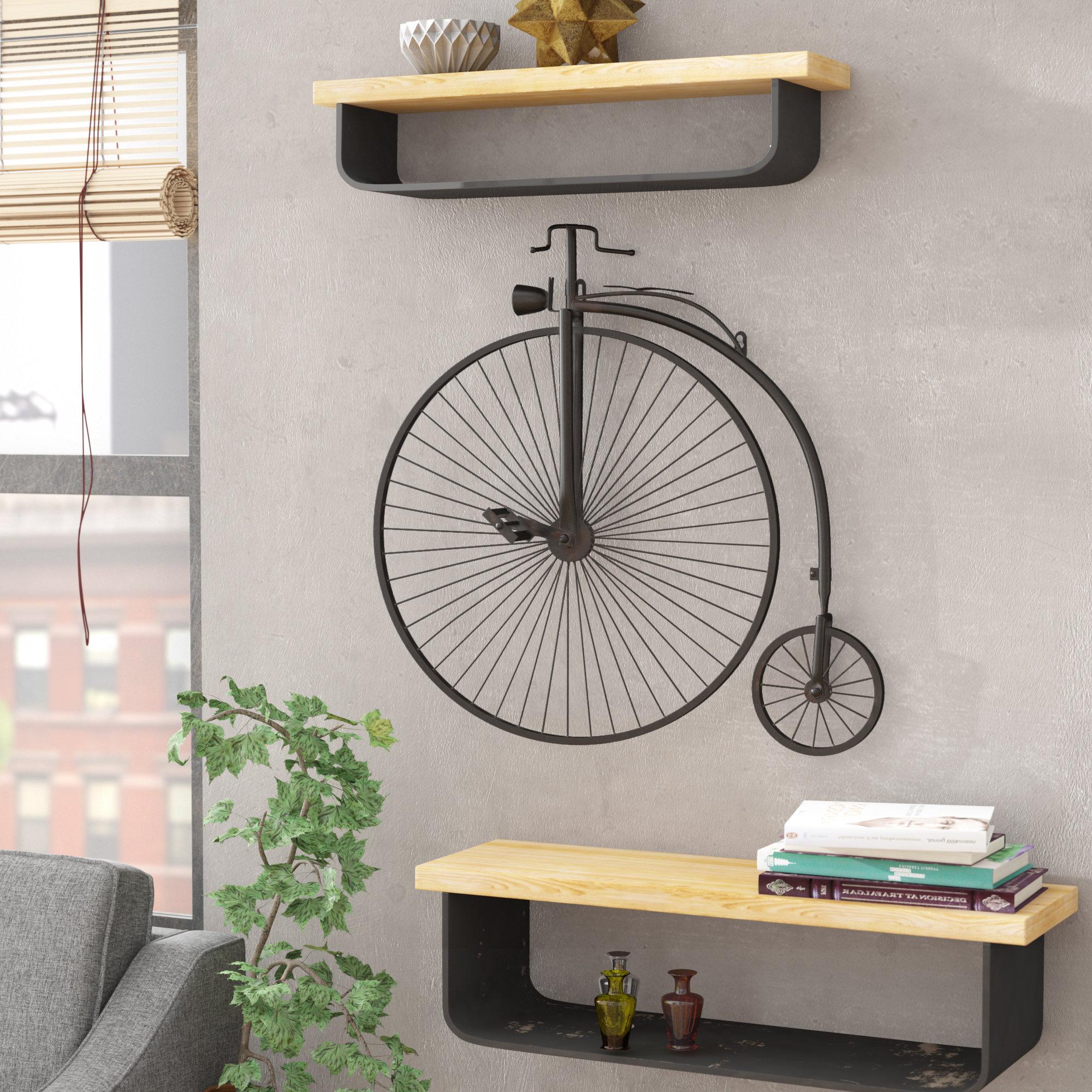 Wayfair Inside Fashionable Bike Wall Decor By August Grove (View 17 of 20)