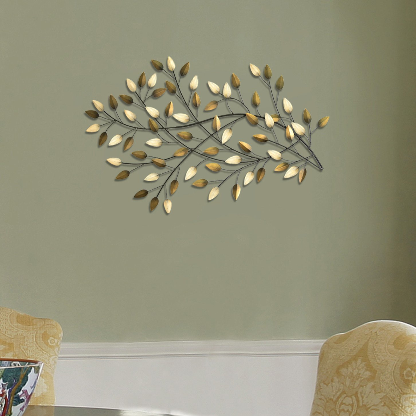 Wayfair Throughout Leaves Metal Sculpture Wall Decor By Winston Porter (View 2 of 20)