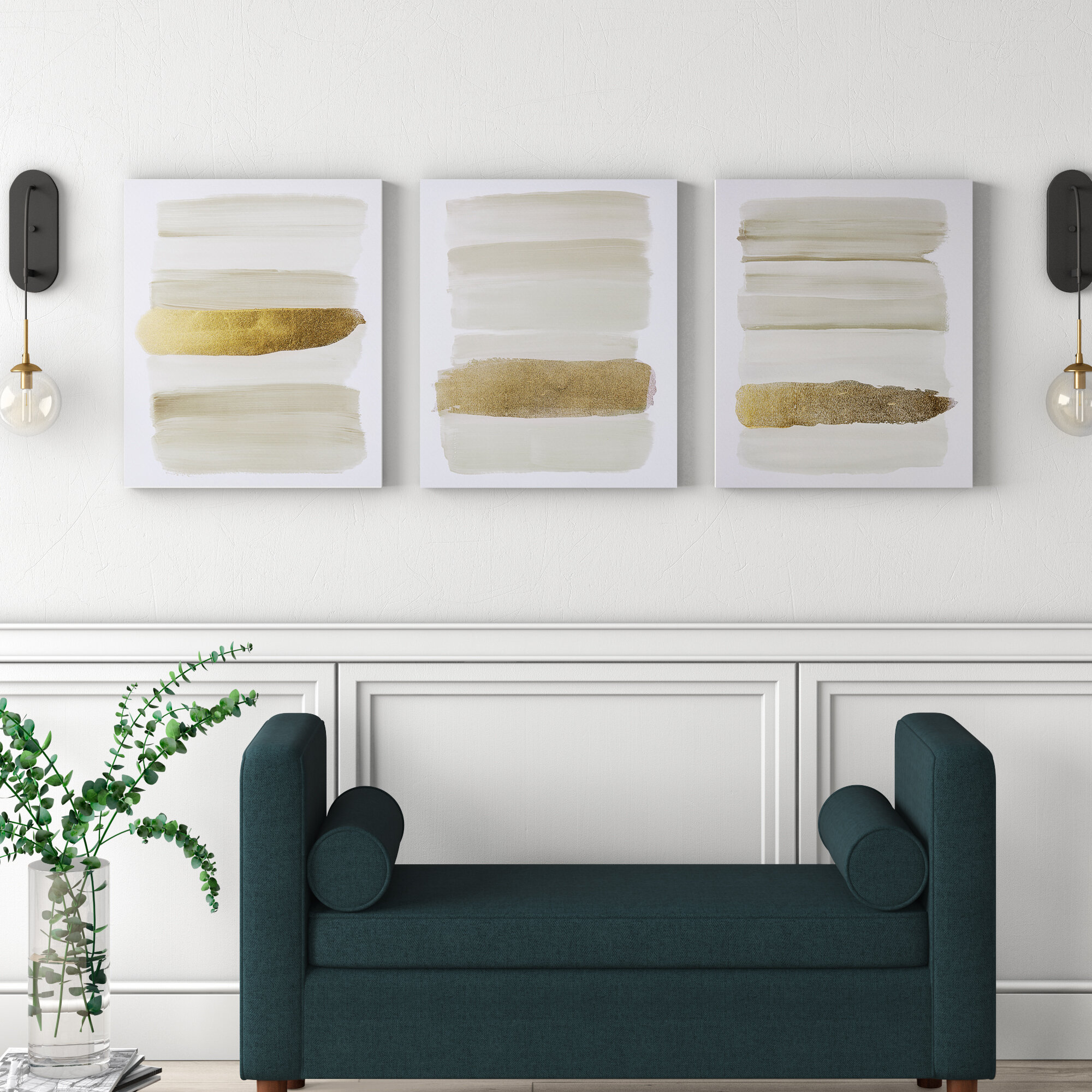 Wayfair Throughout Most Current 3 Piece Wall Decor Sets By Wrought Studio (View 6 of 20)