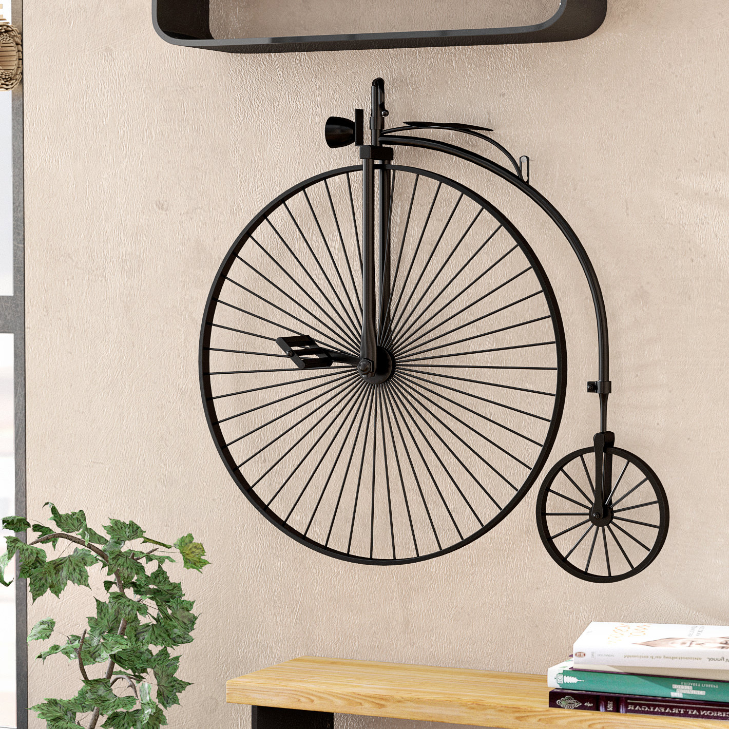 Wayfair With Preferred Metal Bicycle Wall Decor (View 4 of 20)