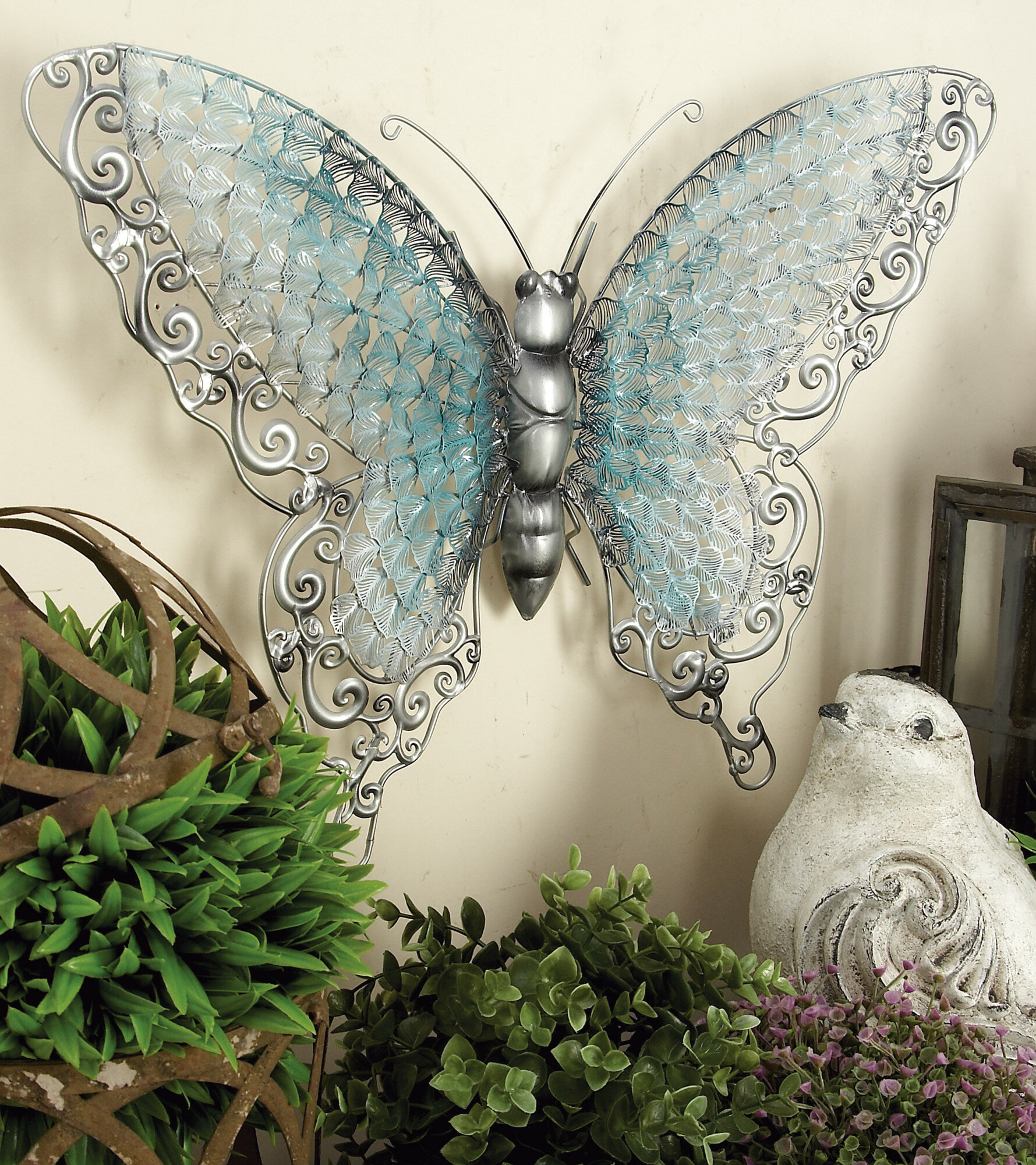 Wayfair Within Ila Metal Butterfly Wall Decor (View 17 of 20)