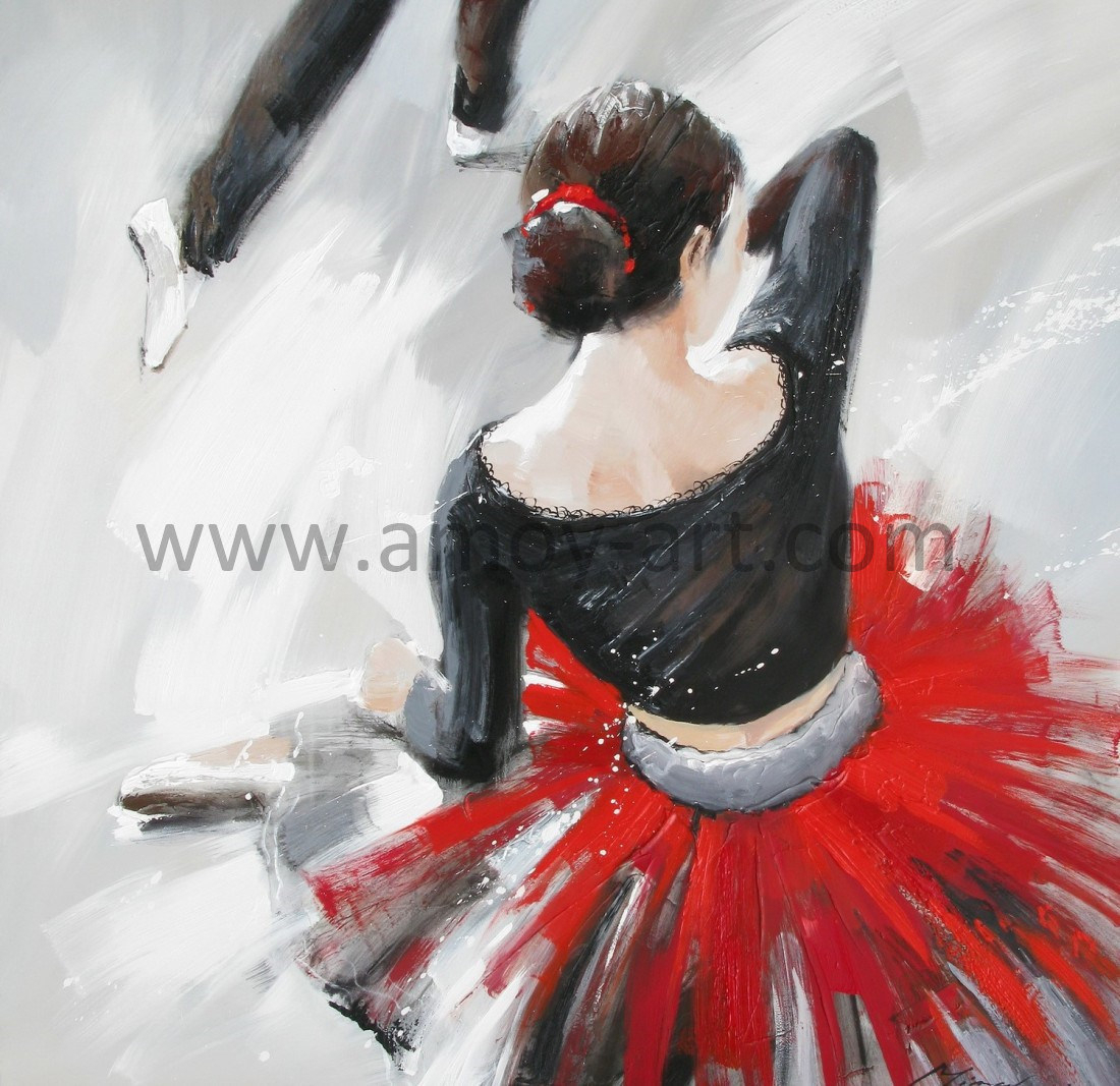 Well Known China Modern Dancing Lady Oil Paintings For Wall Decor – China Inside Dance Of Desire Wall Decor (View 18 of 20)