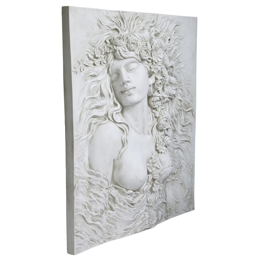 Well Known Dance Of Desire Wall Decor Pertaining To Shop Design Toscano Shakespeare's Ophelia's Desire Wall Sculpture (View 8 of 20)