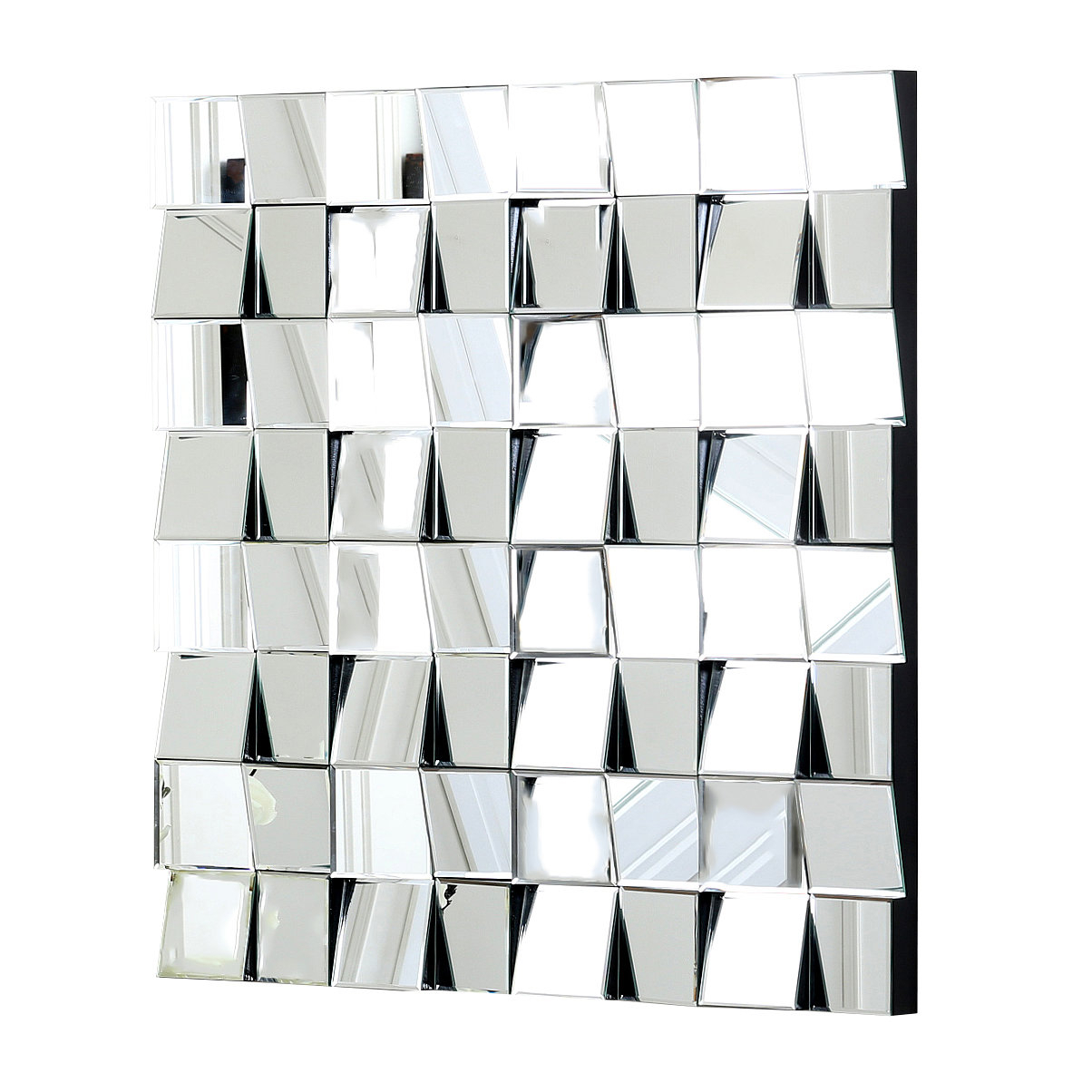 Well Known Pennsburg Rectangle Wall Mirror By Wade Logan With Regard To Square Silver Wall Mirror & Reviews (View 20 of 20)