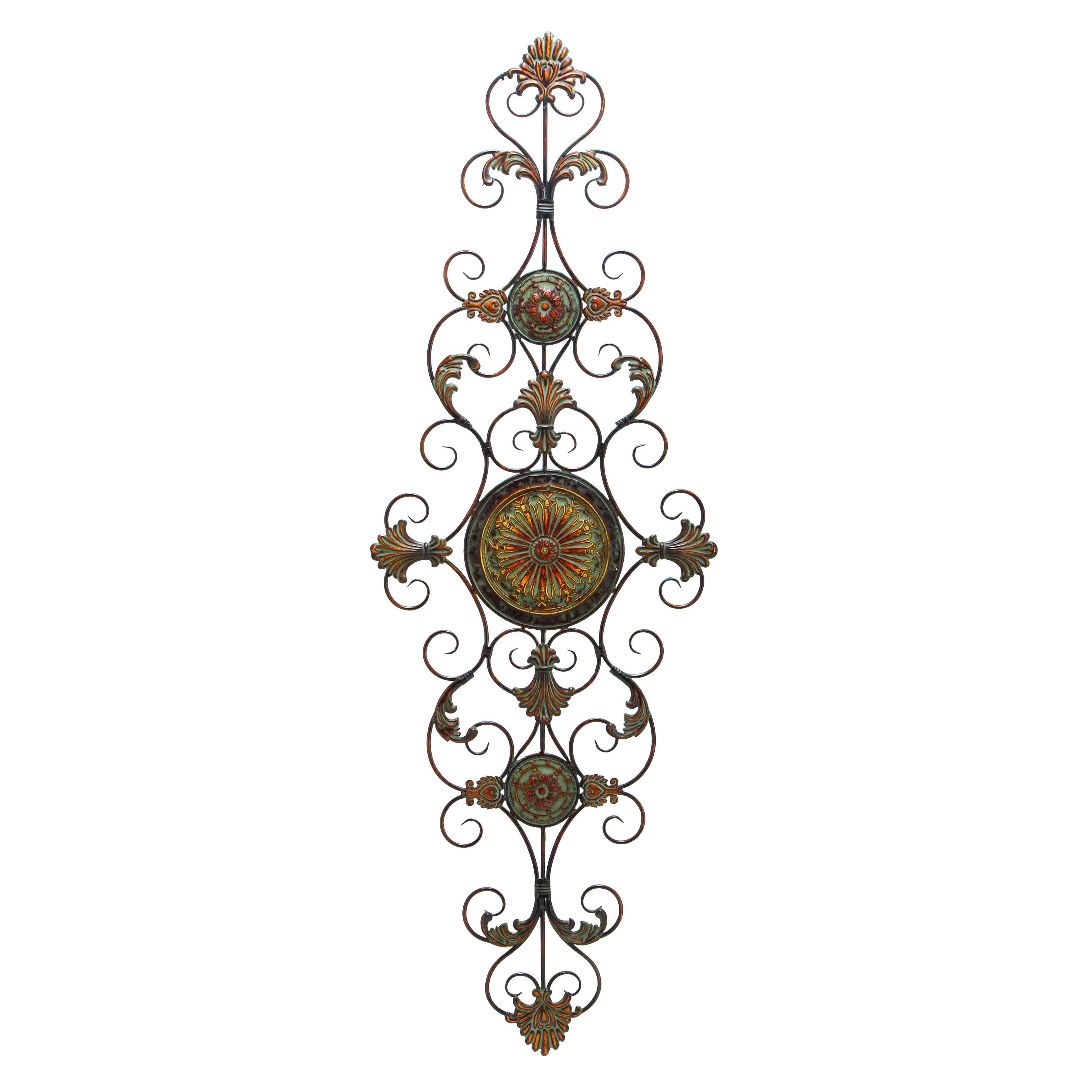 Well Known Shop Traditional 55 Inch Scroll And Acanthus Leaf Wall Decor Intended For Scroll Leaf Wall Decor (View 18 of 20)