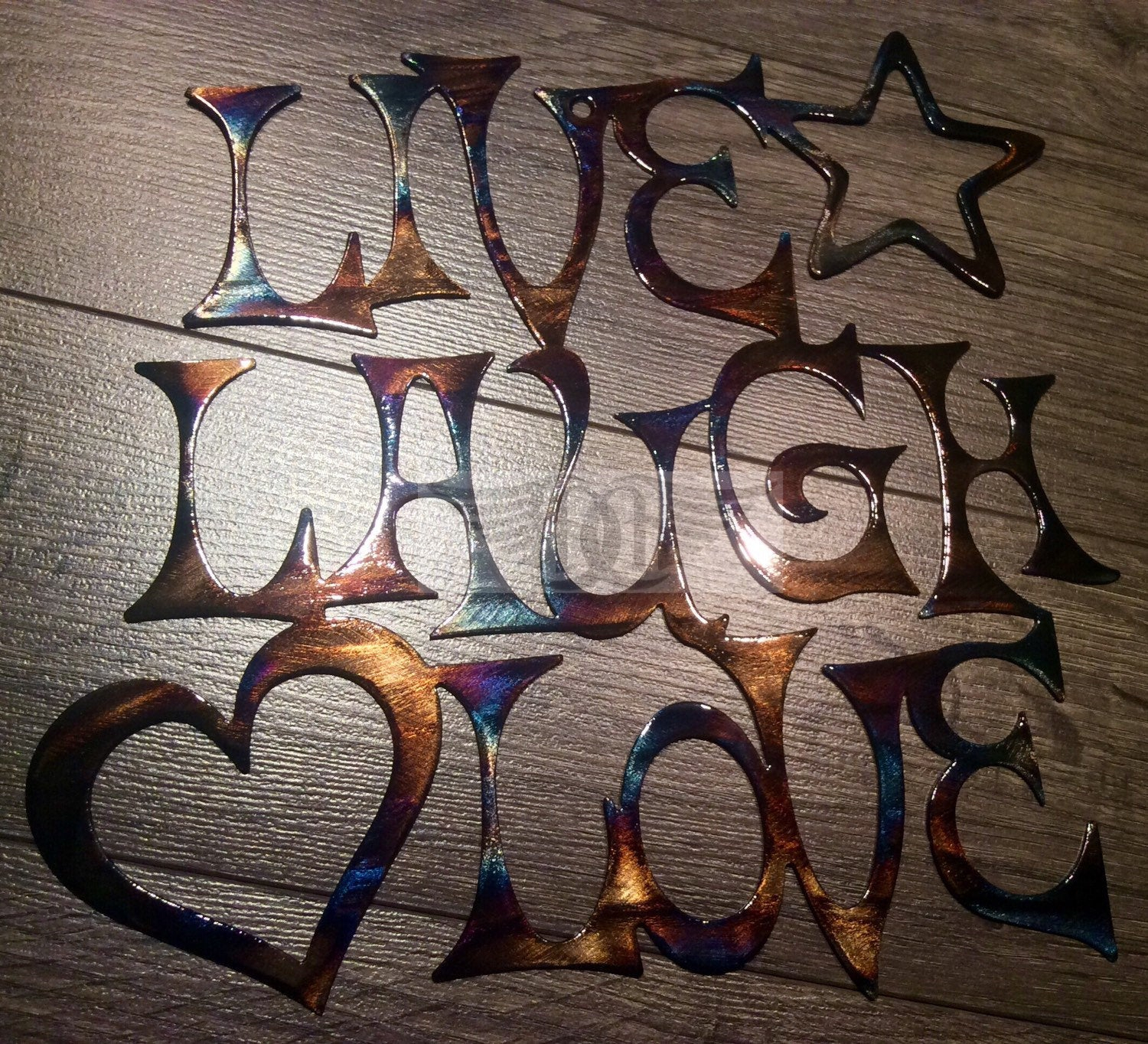 Well Liked Live, Laugh, Love Antique Copper Wall Decor In Best Friend Gift Live Laugh Love Wall Art Wall Decor (View 20 of 20)