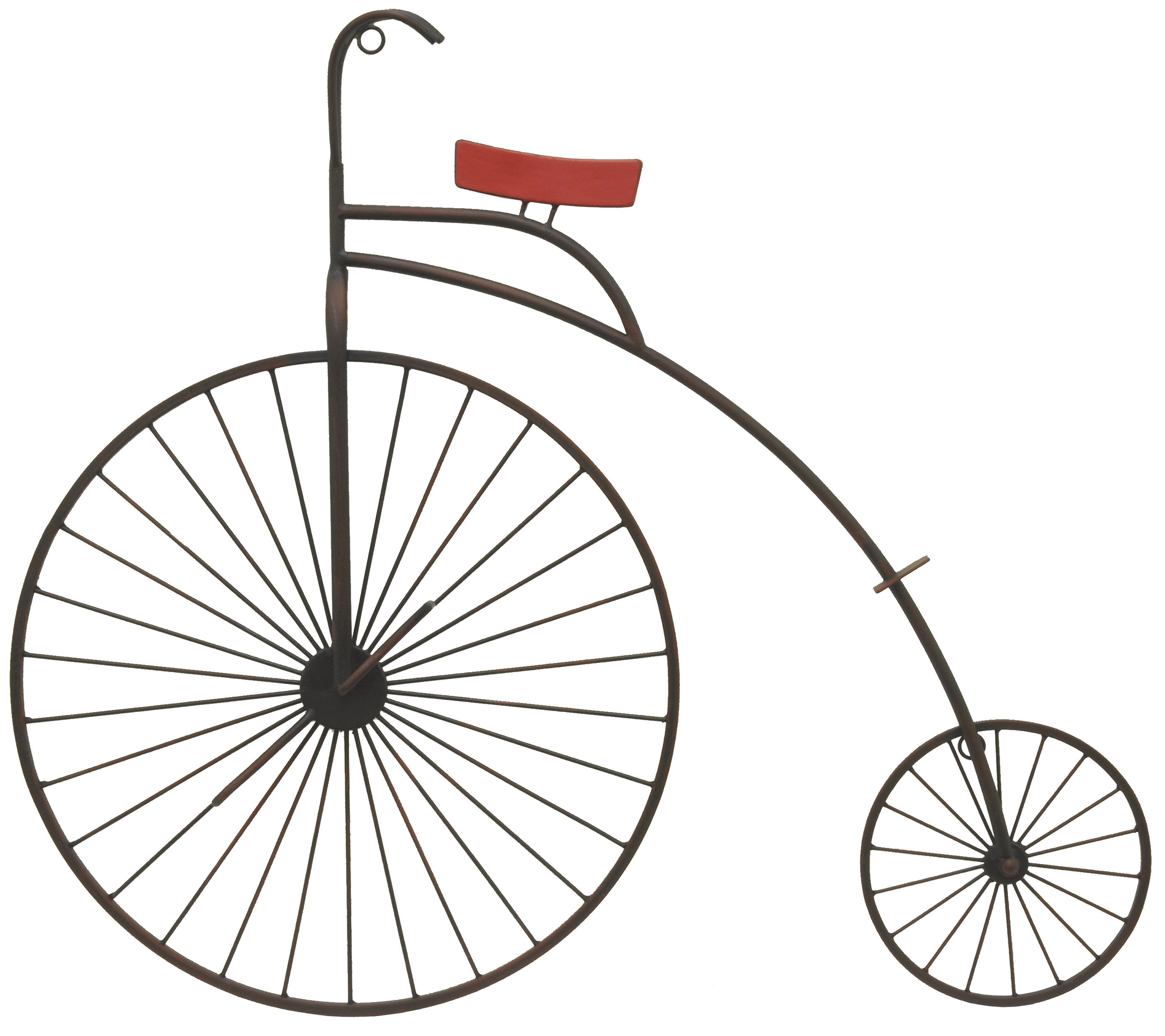 Well Liked Three Hands Co. Metal Bike Wall Décor (Gallery 2 of 20)