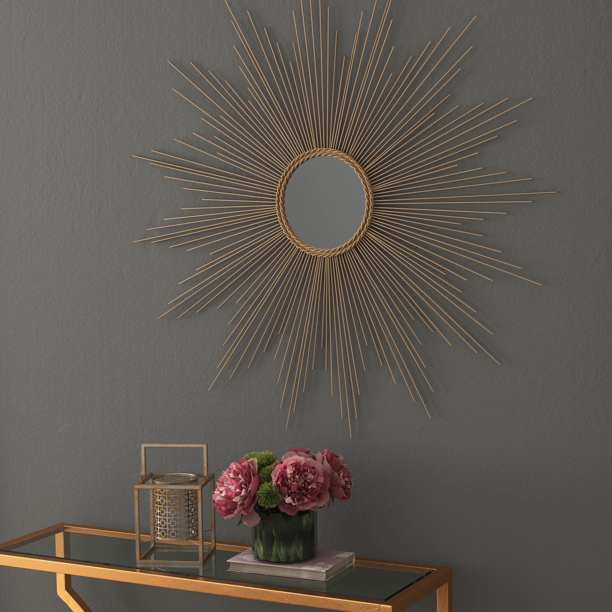 Willa Arlo Interiors Traditional Metal Wall Mirror & Reviews (View 20 of 20)