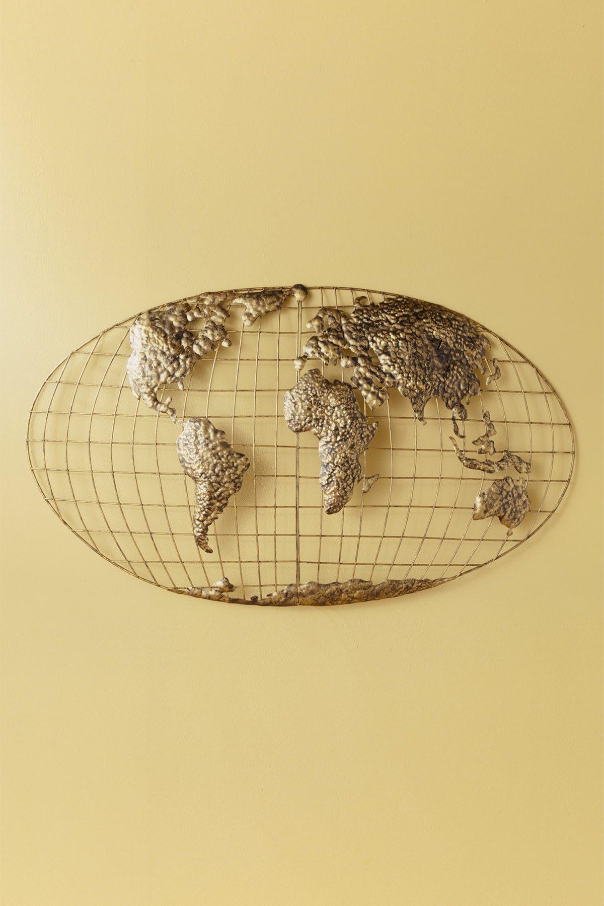 World Map Wall Art, World (Gallery 12 of 20)
