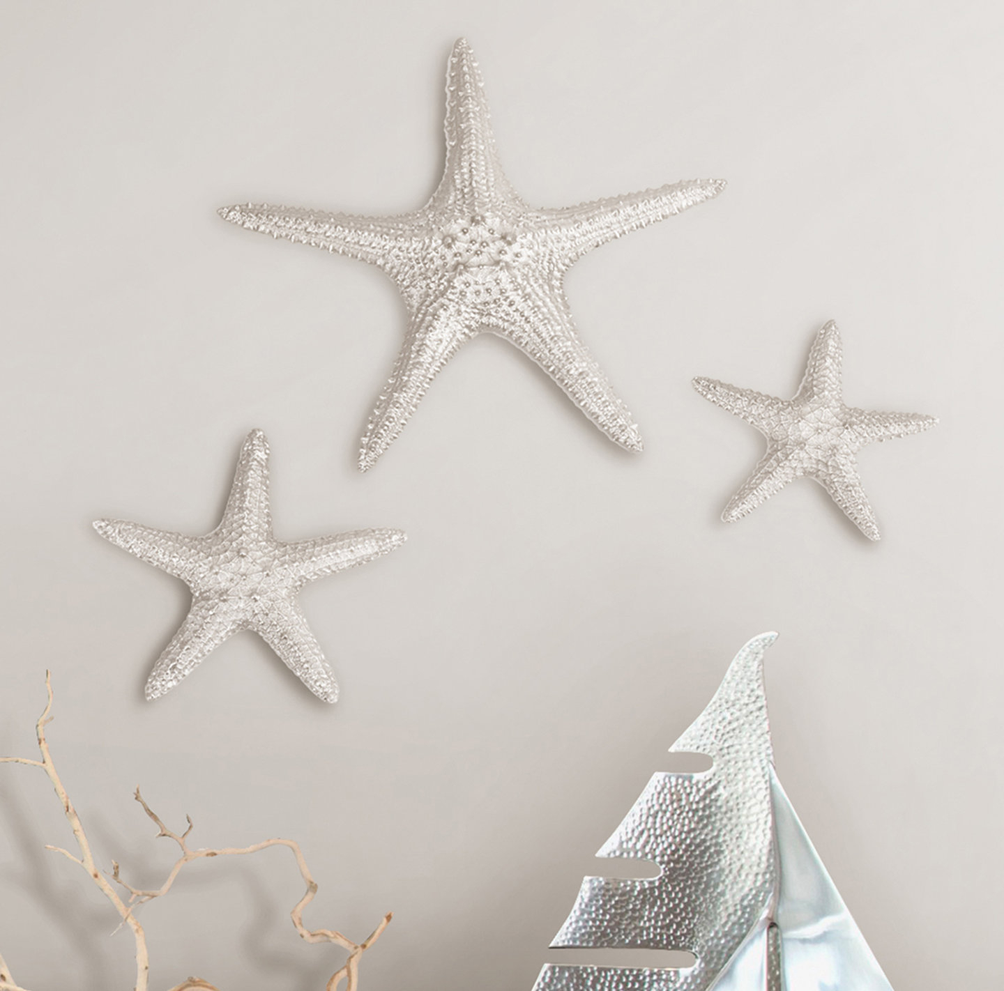 Yelton 3 Piece Starfish Wall Decor Sets With Favorite Fetco Home Decor Yelton 3 Piece Starfish Wall Décor Set & Reviews (Gallery 1 of 20)