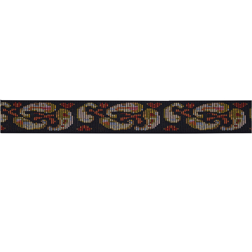 "1 5/8"" Stretch Iris Tapestry Trim 3954 Regarding Recent Blended Fabric Irises Tapestries (View 12 of 20)"