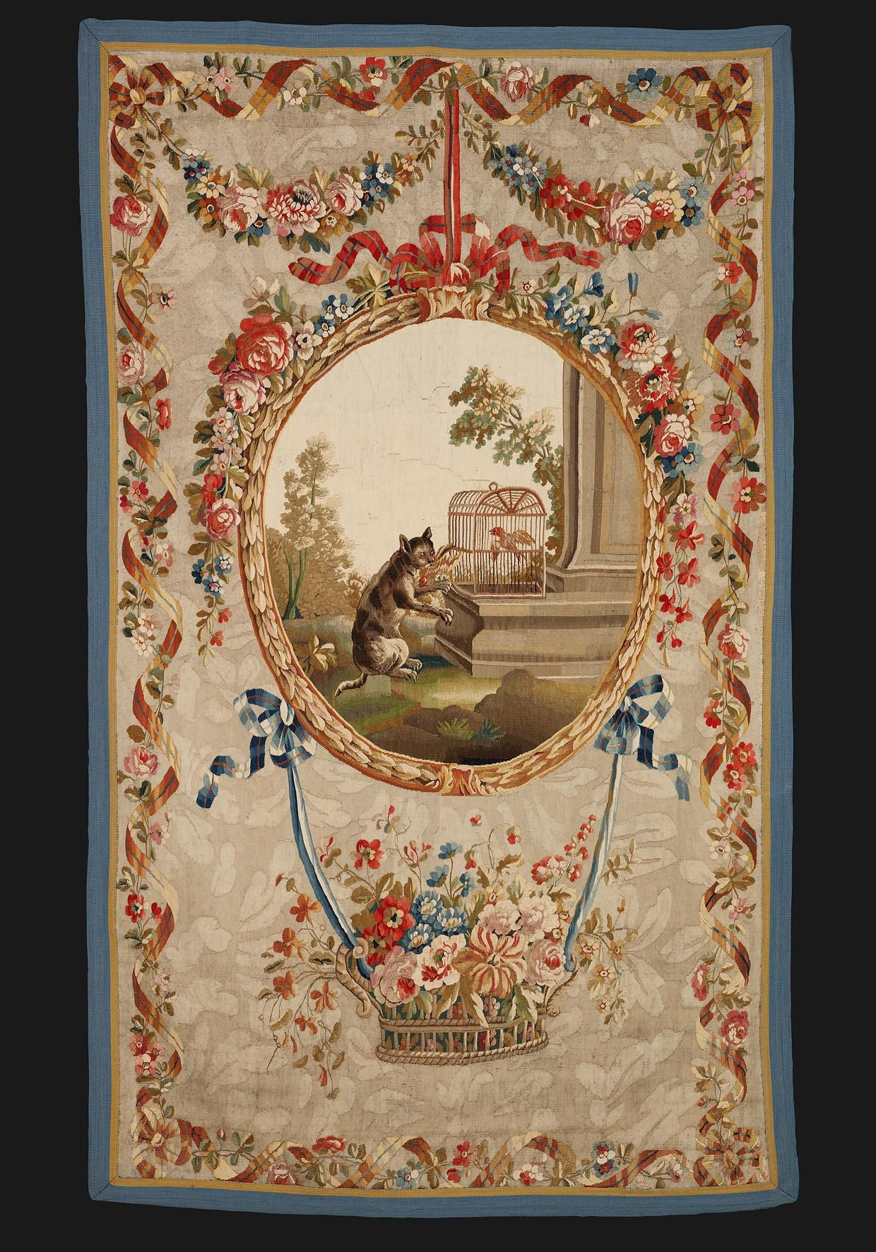 100+ Aubusson Ideas   Aubusson Rugs, Tapestry, Rugs On Carpet Within 2017 Blended Fabric Classic French Rococo Woven Tapestries (View 10 of 20)