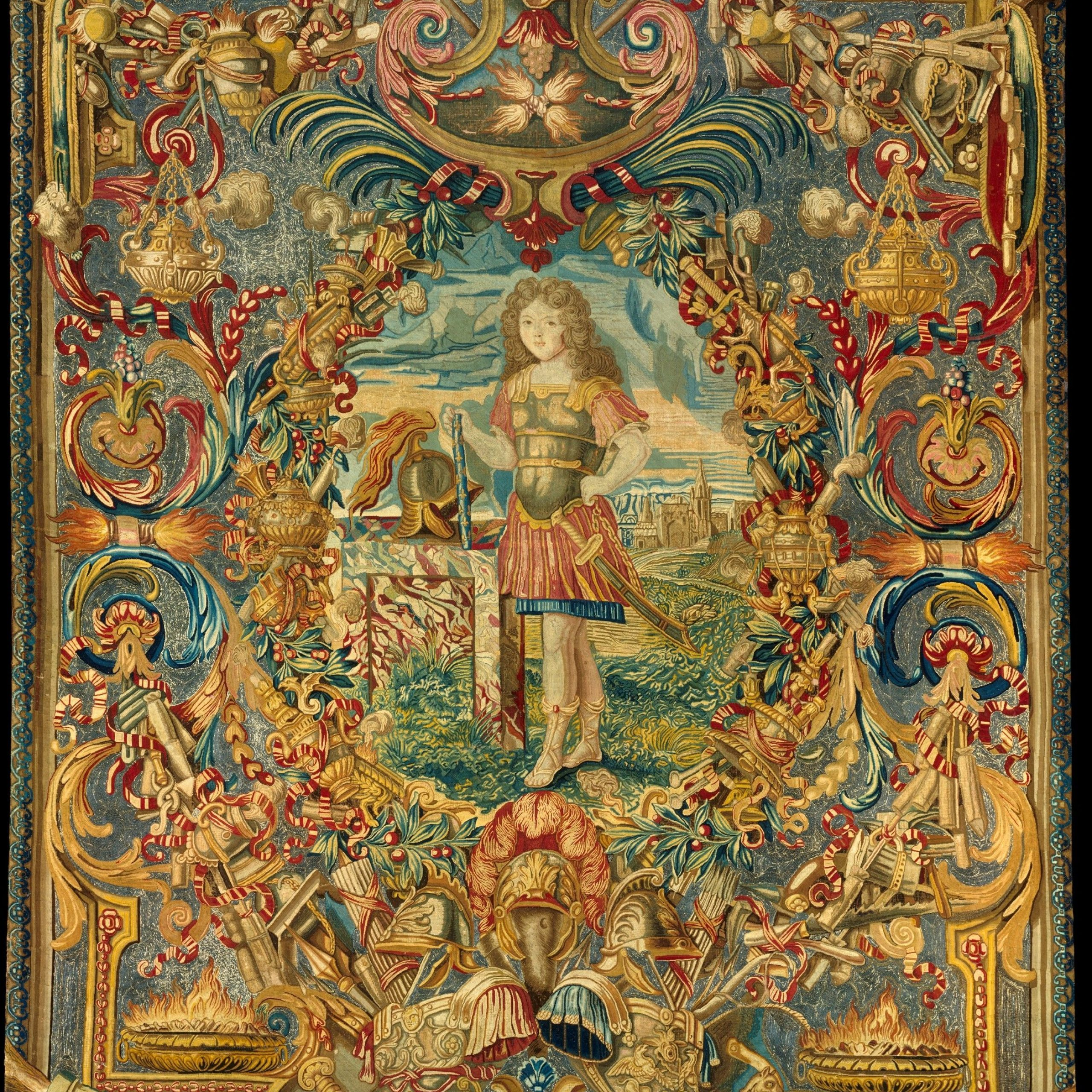100+ Tapestry Ideas | Tapestry, Art, Medieval Tapestry Inside Newest Blended Fabric Verdure Au Chateau Ii European Tapestries (View 11 of 20)