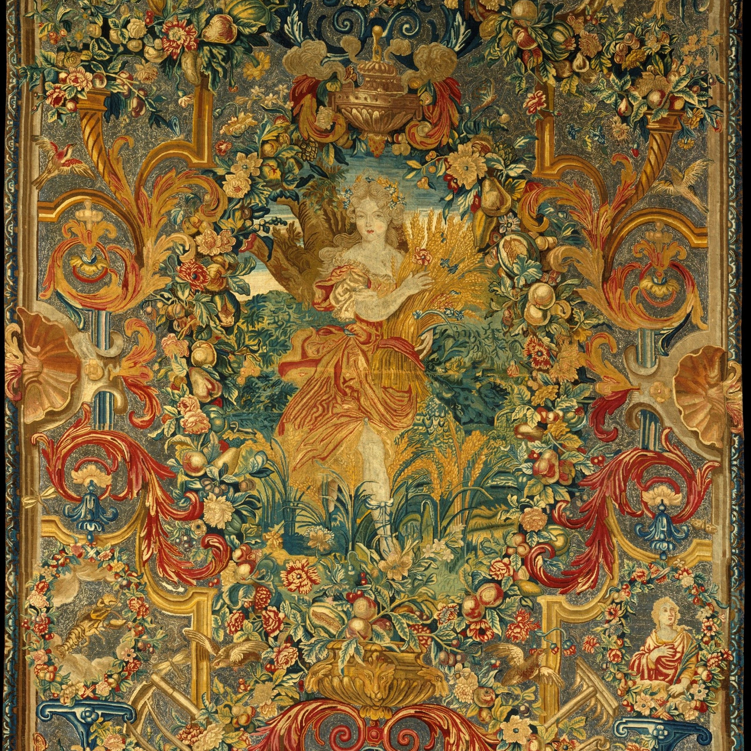 100+ Tapestry Ideas | Tapestry, Art, Medieval Tapestry Pertaining To 2017 Blended Fabric Verdure Au Chateau Ii European Tapestries (View 7 of 20)