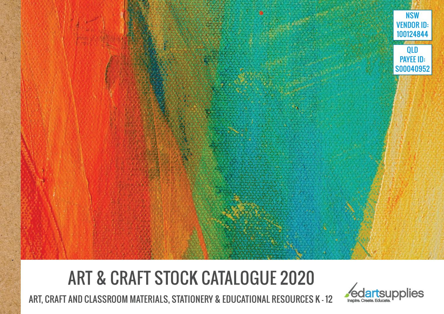 2020 Art & Craft Stock Catalogueedartsupplies – Issuu Regarding Best And Newest Blended Fabric Mod Dinosaur 3 Piece Wall Hangings Set (View 17 of 20)