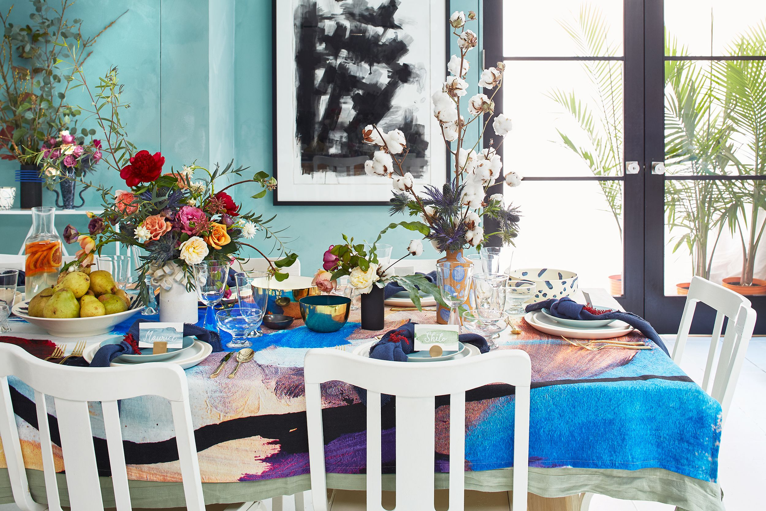 25 Beautiful Spring Table Setting Ideas – Stylish Spring Regarding Recent Blended Fabric Spring Party Wall Hangings (View 3 of 20)