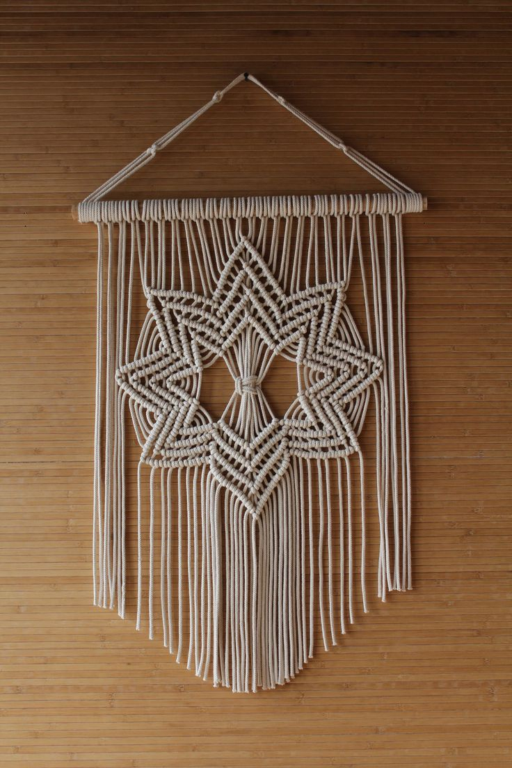 30+ Macéame Ideas | Macrame Wall Hanging, Macrame Design With Regard To 2018 Blended Fabric Artifice Ii Wall Hangings (View 4 of 20)