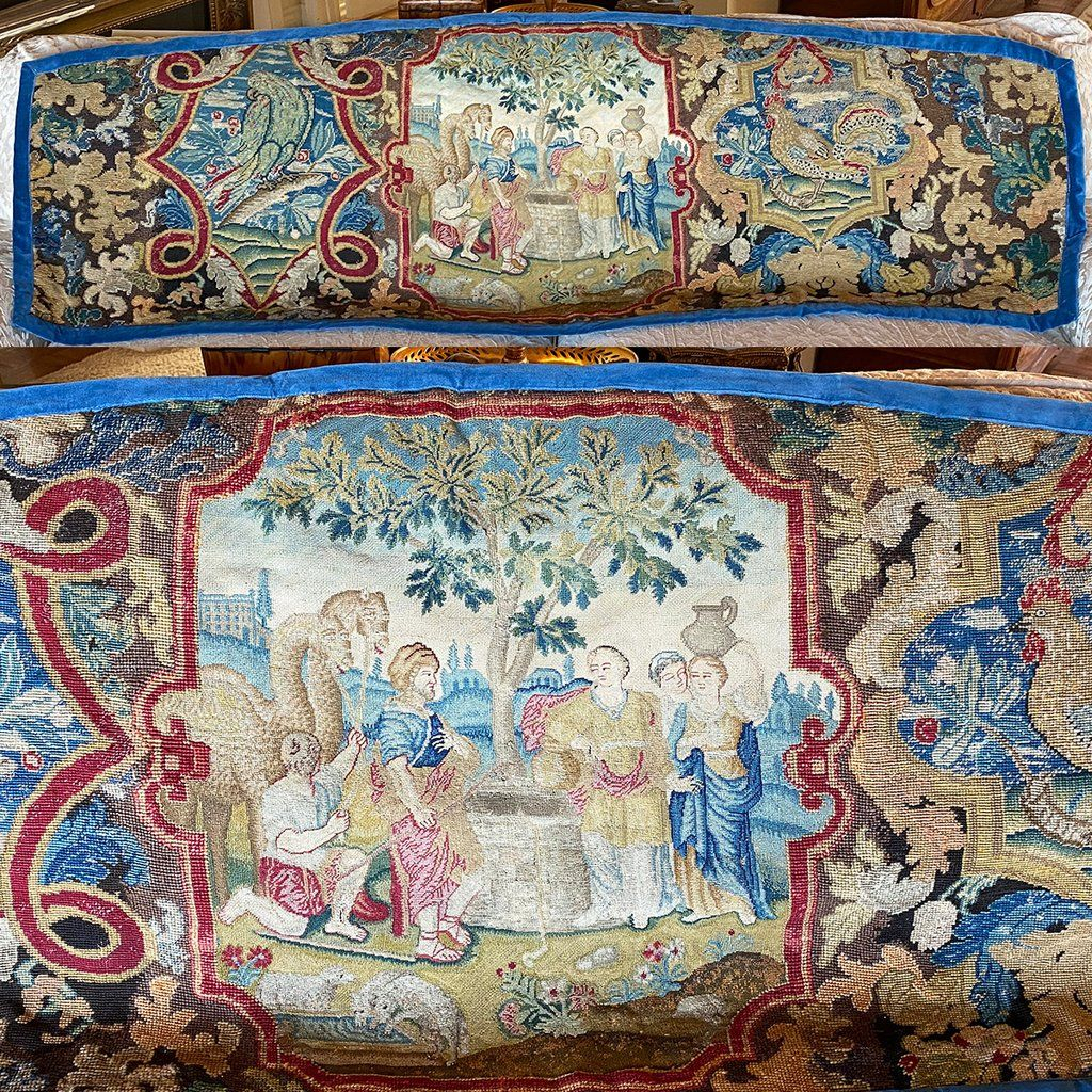 300+ Antique Textiles, Tapestries Ideas | Antique Textiles Pertaining To Most Recently Released Birds Face To Face I European Tapestries (View 13 of 20)
