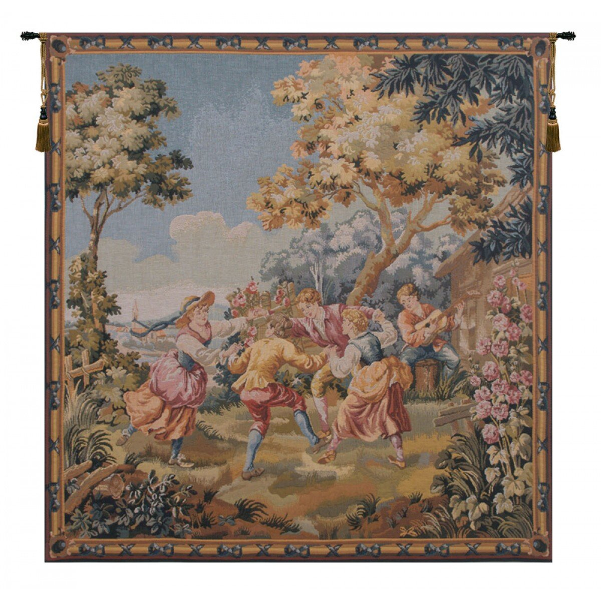 40 X 60 Art Tapestries You'll Love In 2021 | Wayfair For Most Up To Date Blended Fabric Spring Bouquet By Renoir Tapestries (View 4 of 20)