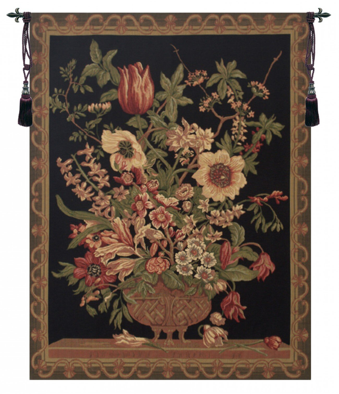 40 X 60 Art Tapestries You'll Love In 2021 | Wayfair Inside Best And Newest Blended Fabric Pheasant And Doe European Tapestries Wall Hangings (View 3 of 20)