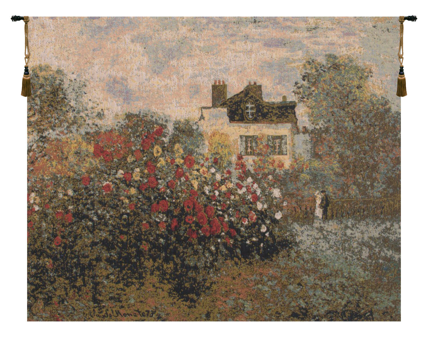 40 X 60 Art Tapestries You'll Love In 2021 | Wayfair Inside Current Blended Fabric Spring Bouquet By Renoir Tapestries (View 6 of 20)