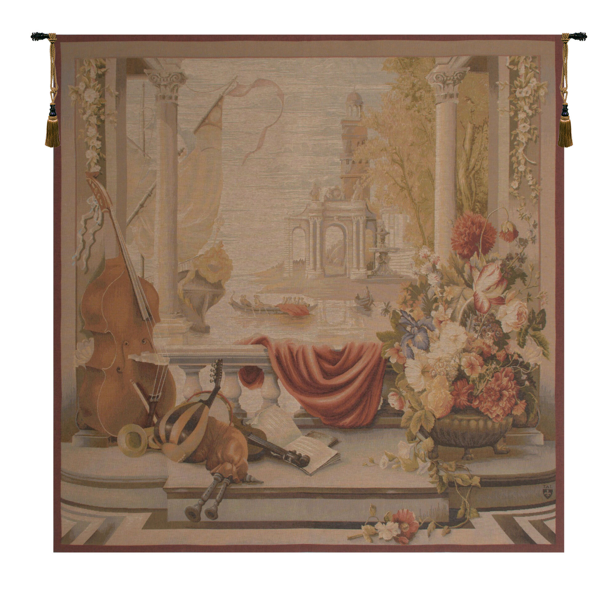 40 X 60 Art Tapestries You'll Love In 2021 | Wayfair Intended For Latest Blended Fabric Woodpecker European Tapestries (View 16 of 20)