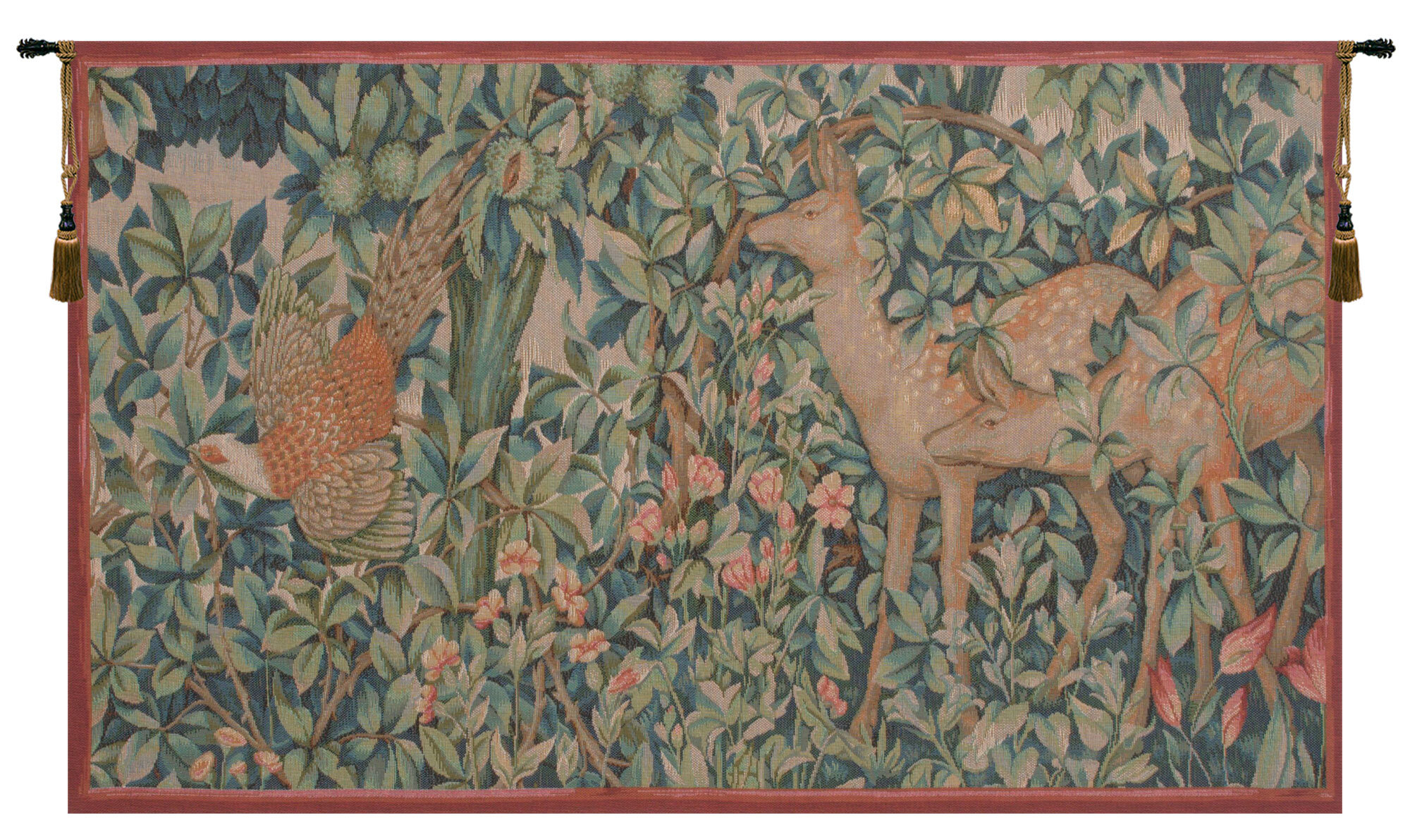 40 X 60 Art Tapestries You'll Love In 2021 | Wayfair Within Most Recently Released Blended Fabric Woodpecker European Tapestries (View 7 of 20)