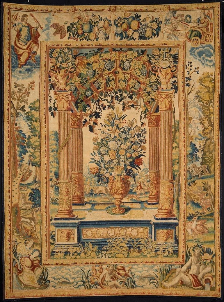 500+ Tapestry Ideas In 2021 | Tapestry, Art, Painting Within Newest Blended Fabric Verdure Au Chateau Ii European Tapestries (View 15 of 20)