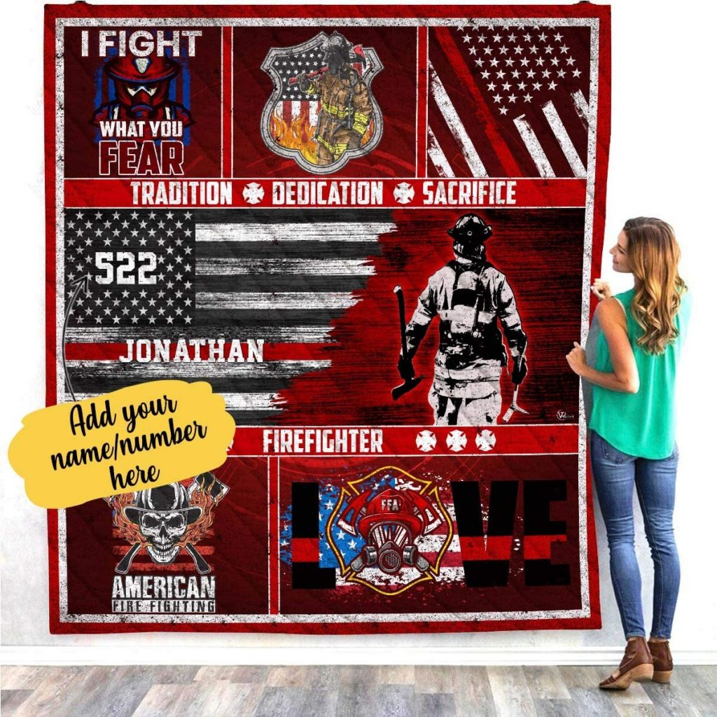 6 Best Firefighter Prayer Blankets – Gifts For Firefighters Within Best And Newest A Fireman Prayer Wall Hangings (View 15 of 20)