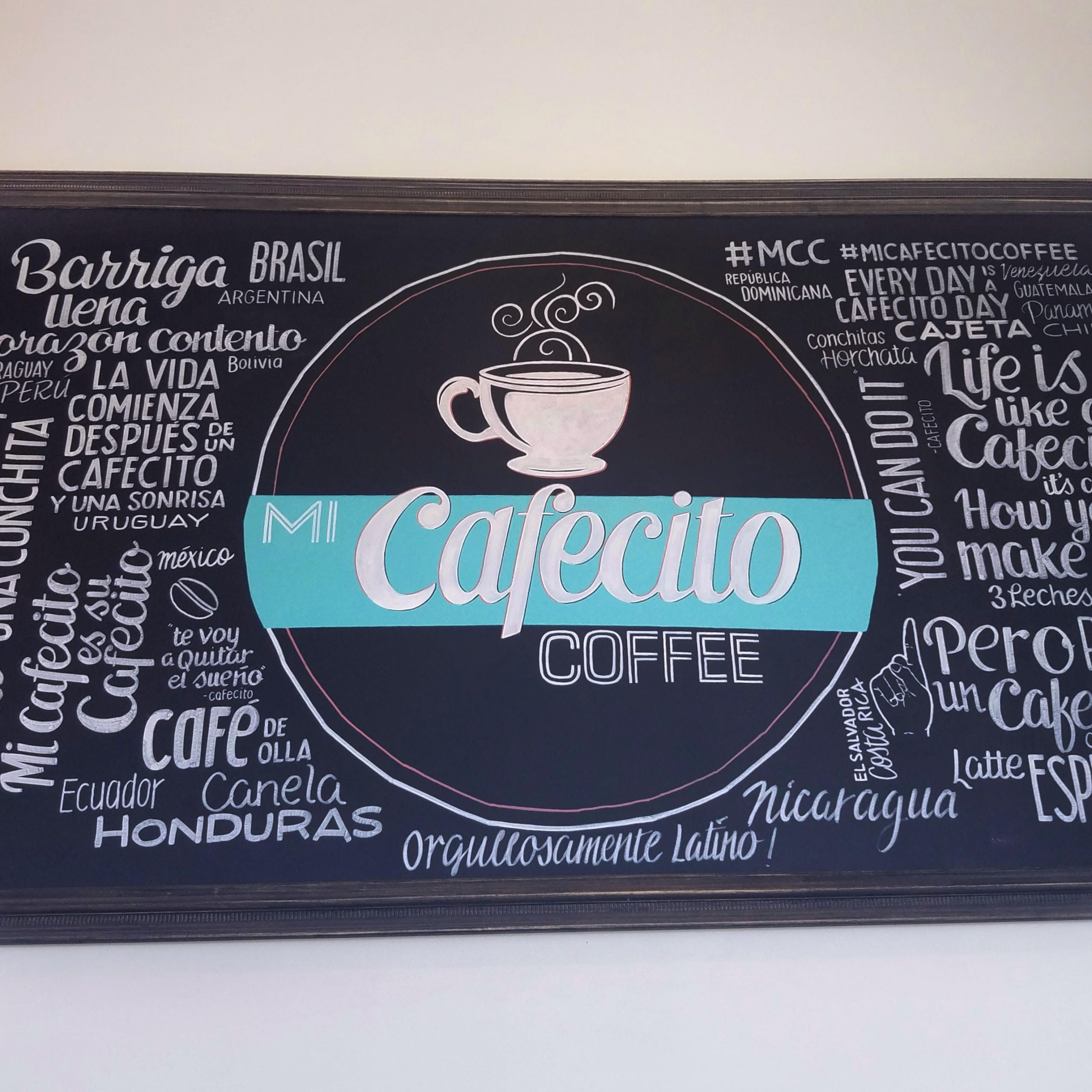 A Review Of Mi Cafecito Coffee In Downtown Pomona | Cafe Within Current Blended Fabric The Pomona Wall Hangings (View 17 of 20)