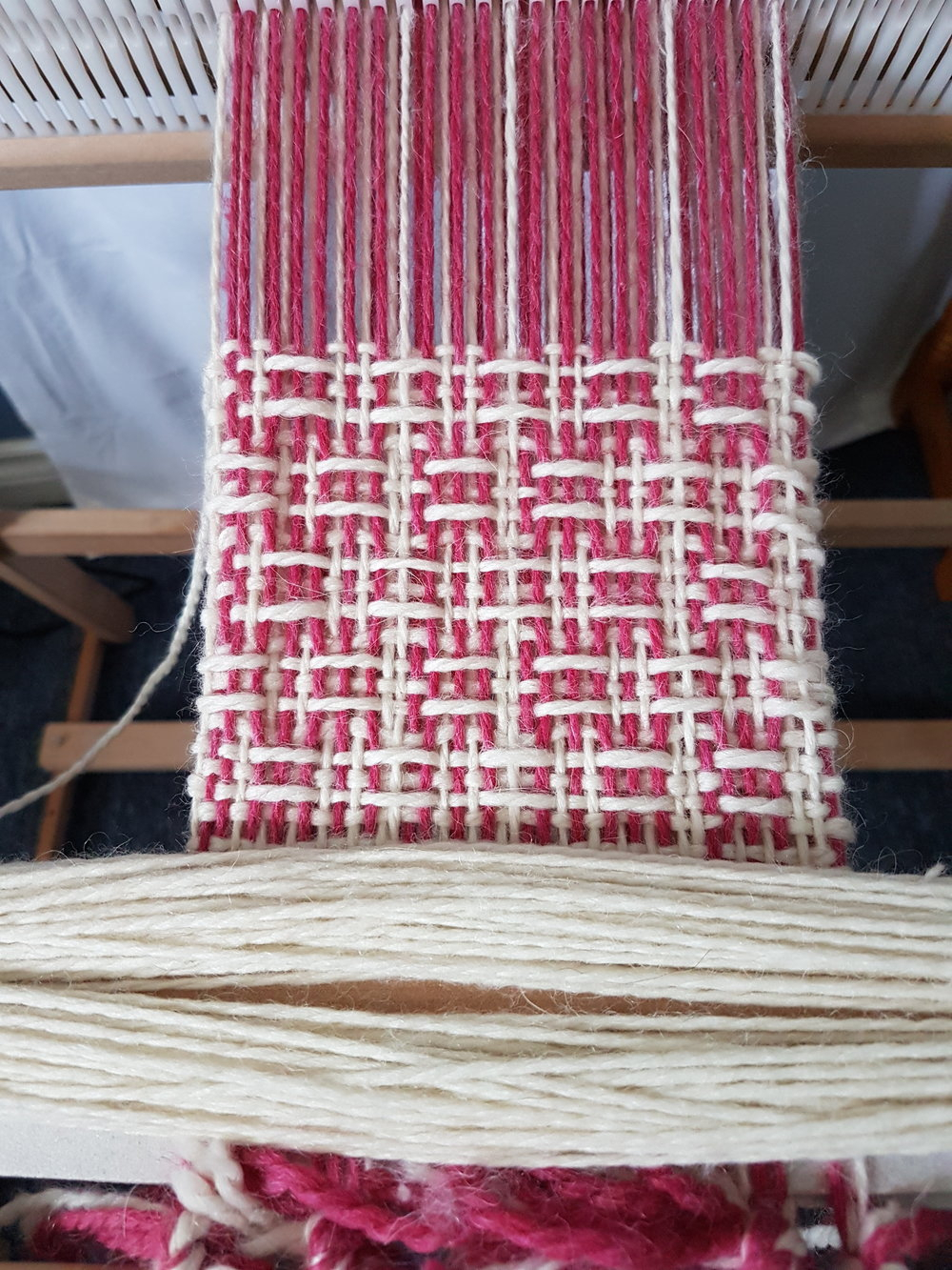 About Weaving — What's On The Loom — The Rogue Weaver Inside Best And Newest Blended Fabric Breeze Of Admiration Woven Tapestries (View 9 of 20)