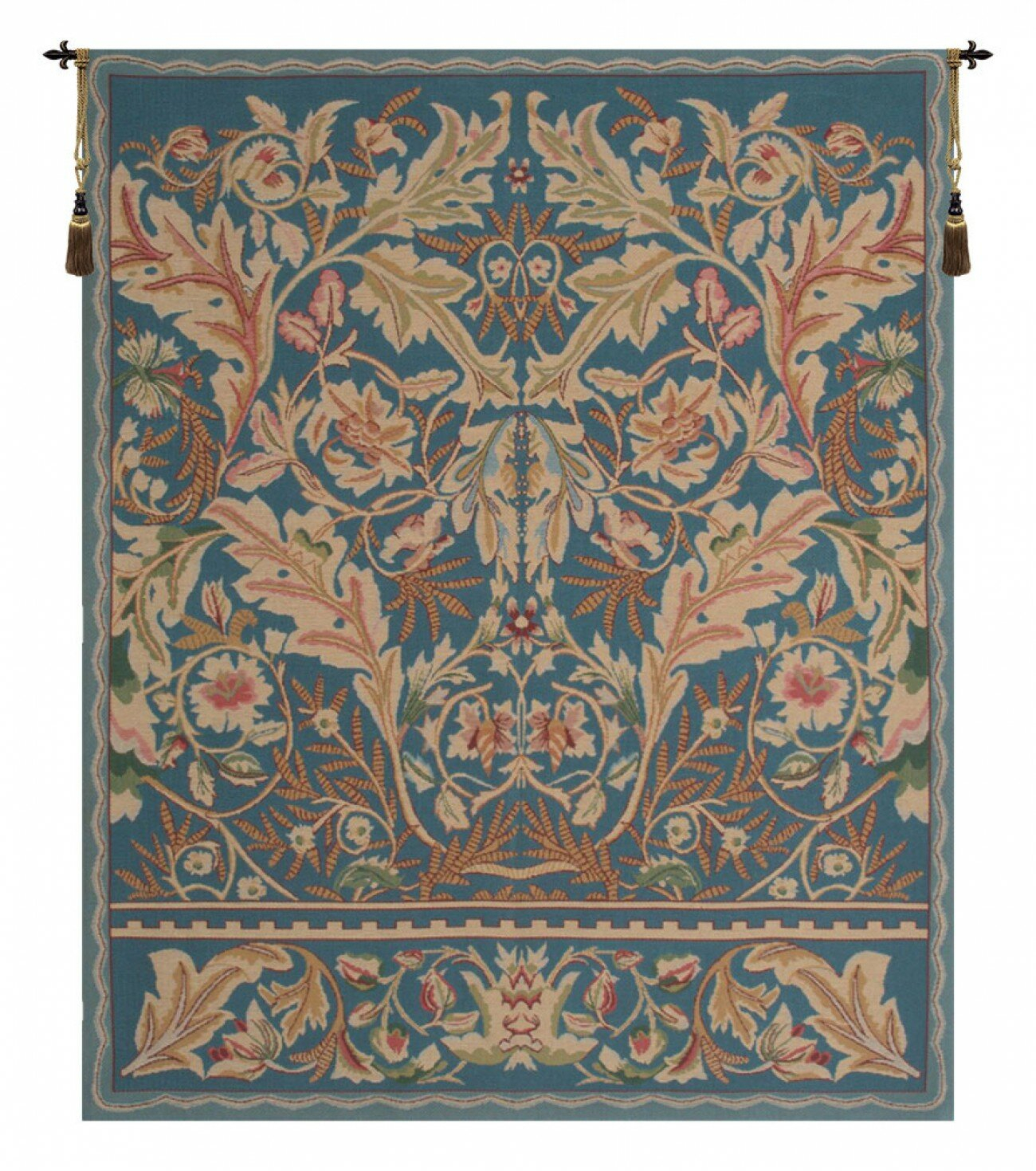 Acanthus Iii Wall Hanging Within Current Blended Fabric Bayeux William Troops Wall Hangings (View 13 of 20)