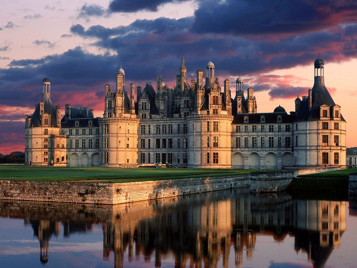 And The Most Majestic One Of The Loire Castls: Chambord Intended For Most Recently Released Chambord Castle I European Wall Hangings (View 12 of 20)