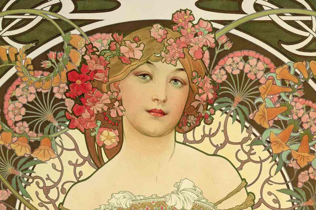 Art Nouveau – History And Legacy   Widewalls With Regard To 2018 Blended Fabric Mucha Autumn European Wall Hangings (View 12 of 20)