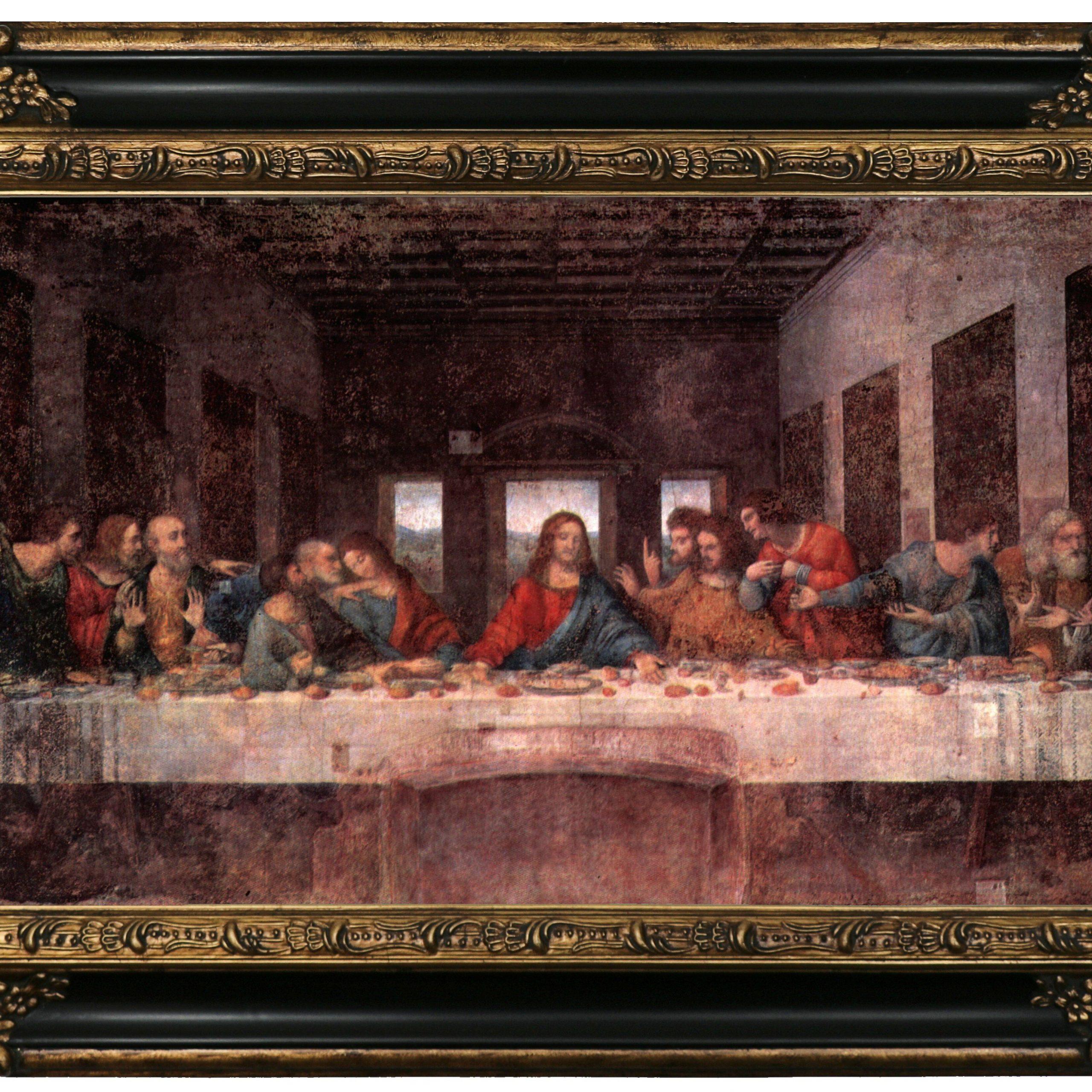 Art Prints Jesus Christ The Last Supperleonardo Da Vinci With Newest Blended Fabric Leonardo Davinci The Last Supper Wall Hangings (View 15 of 20)