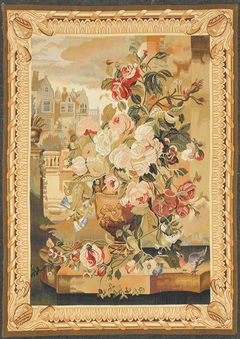 Aubusson Tapestry – Oriental Rugs   Tapestry, Tapestry Throughout Most Current Blended Fabric Classic French Rococo Woven Tapestries (View 9 of 20)