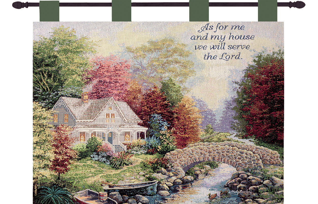 Autumn Tranquility Verse Wall Hanging With Best And Newest Blended Fabric Garden Of Gethsemane Tapestries And Wall Hangings (View 13 of 20)